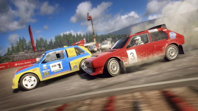 MG Metro 6R4 and Lancia Delta S4 Rallycross