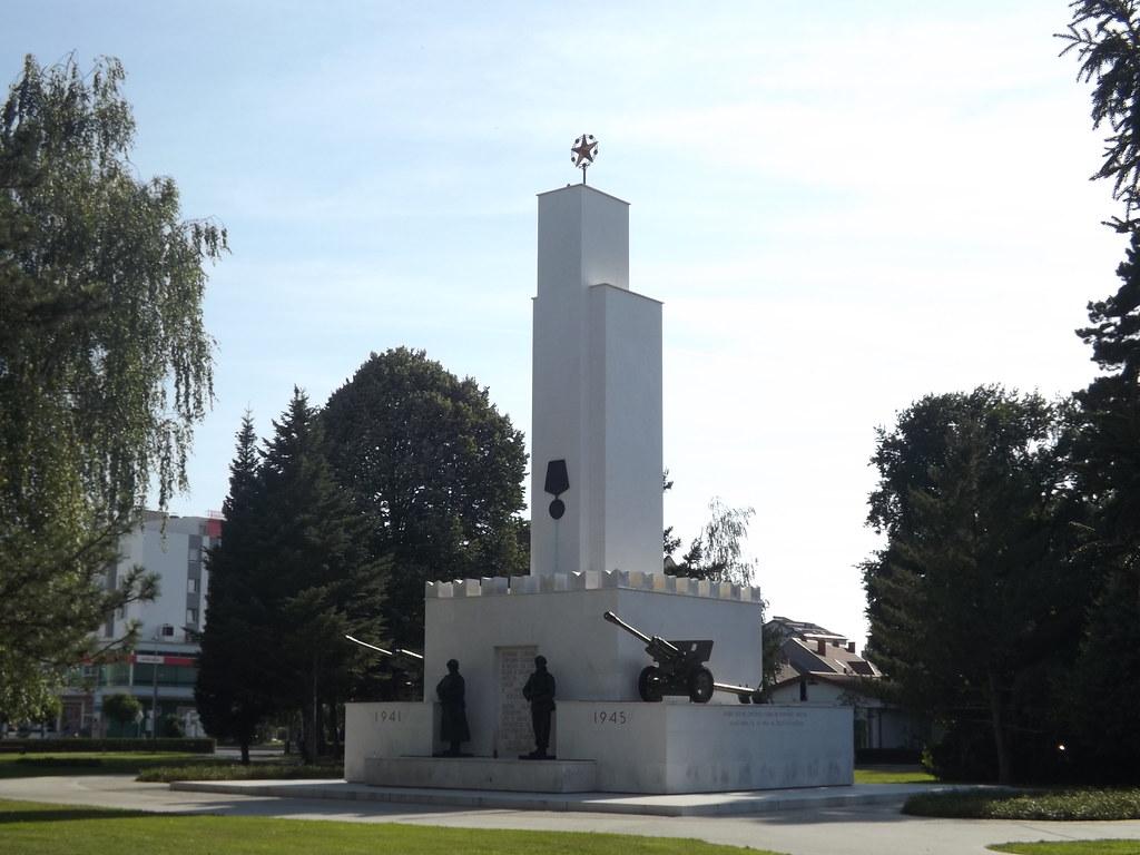 Victory Monument Murska Sobota Slovenia Spomenik Zmage Flickr