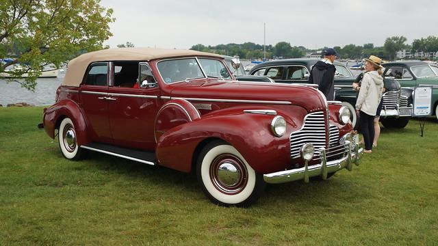 1940 Buick 81C Limited Fastback Phaeton