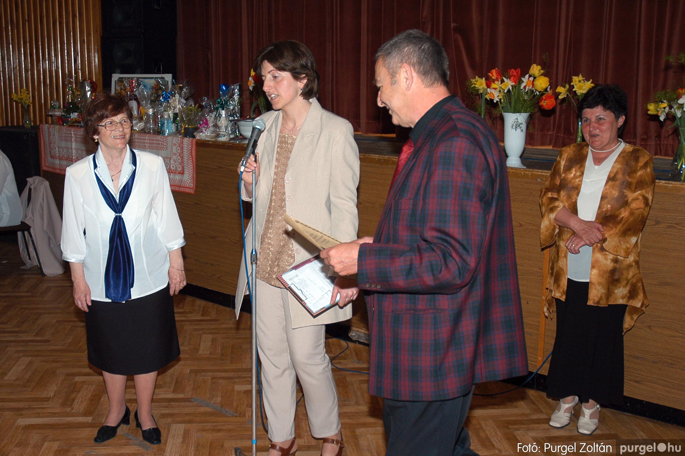 2005.04.16. 039 Szép Öregkor Nyugdíjas Klub tavaszi bál - Fotó:PURGEL ZOLTÁN© DSC_0058q.jpg