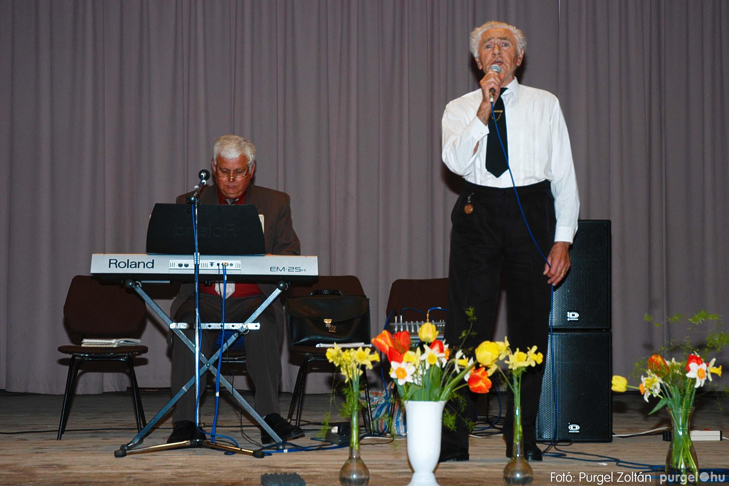 2005.04.16. 056 Szép Öregkor Nyugdíjas Klub tavaszi bál - Fotó:PURGEL ZOLTÁN© DSC_0079q.jpg