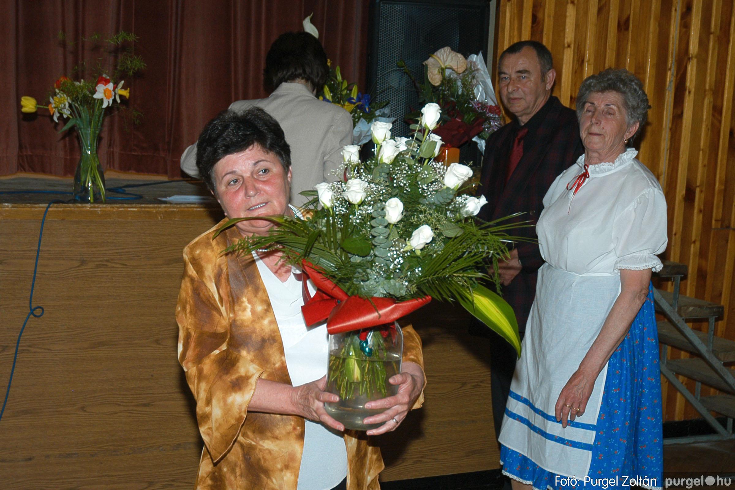 2005.04.16. 047 Szép Öregkor Nyugdíjas Klub tavaszi bál - Fotó:PURGEL ZOLTÁN© DSC_0067q.jpg