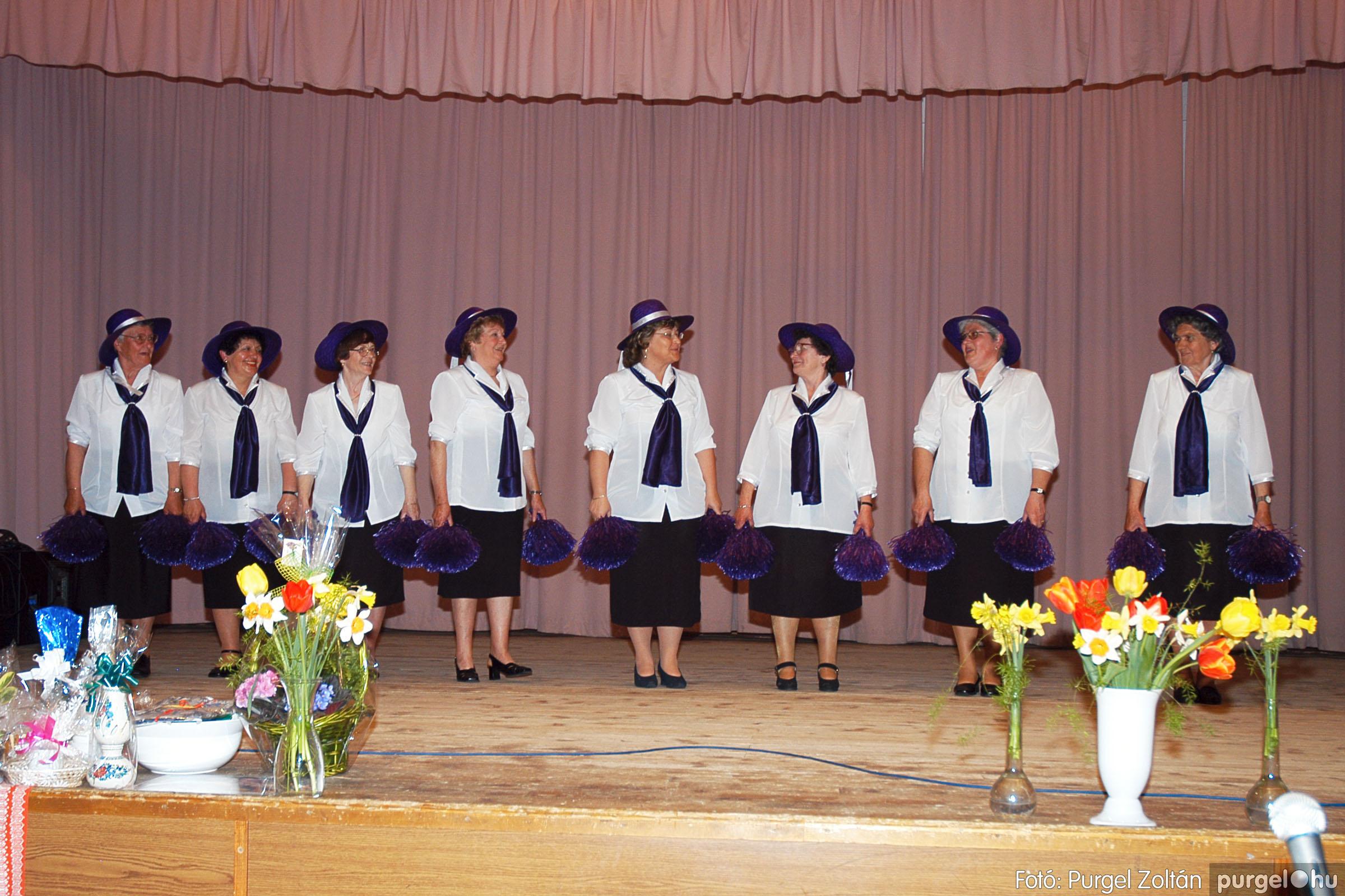 2005.04.16. 038 Szép Öregkor Nyugdíjas Klub tavaszi bál - Fotó:PURGEL ZOLTÁN© DSC_0057q.jpg