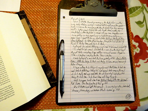 page 678 August 1, 2019 Paper Diary
