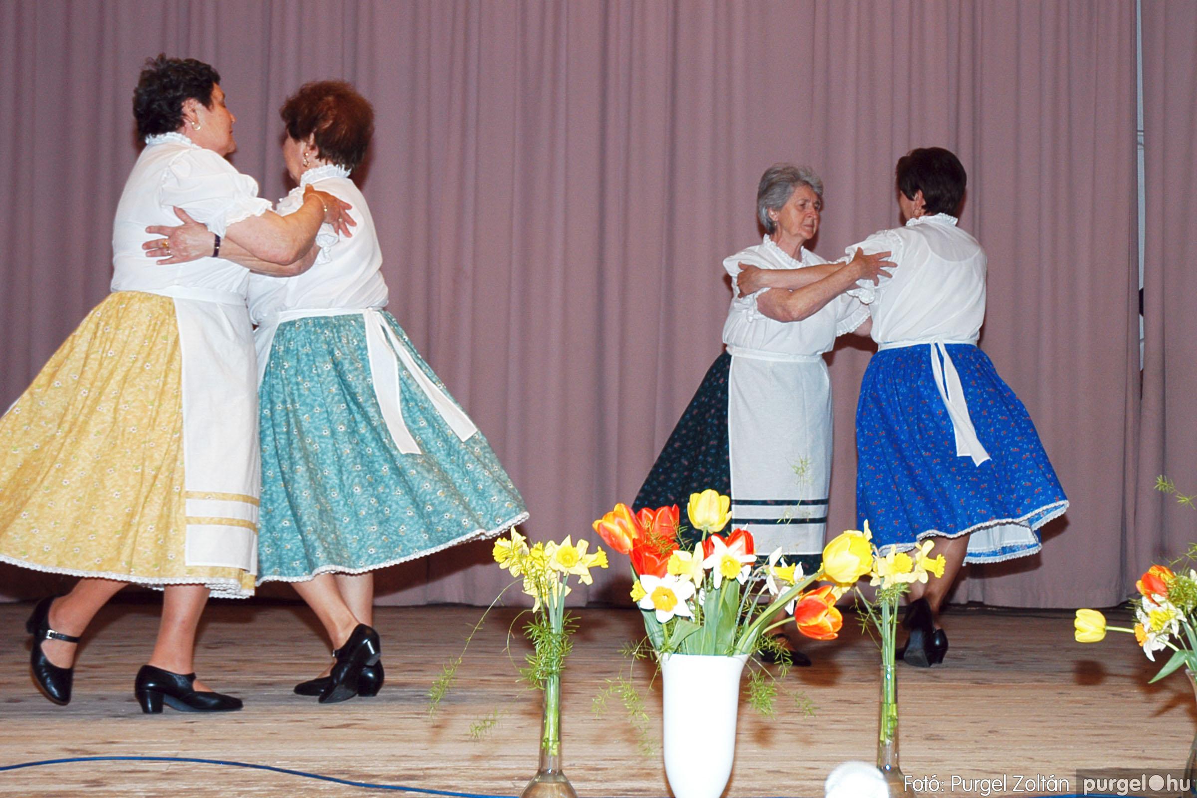 2005.04.16. 026 Szép Öregkor Nyugdíjas Klub tavaszi bál - Fotó:PURGEL ZOLTÁN© DSC_0041q.jpg