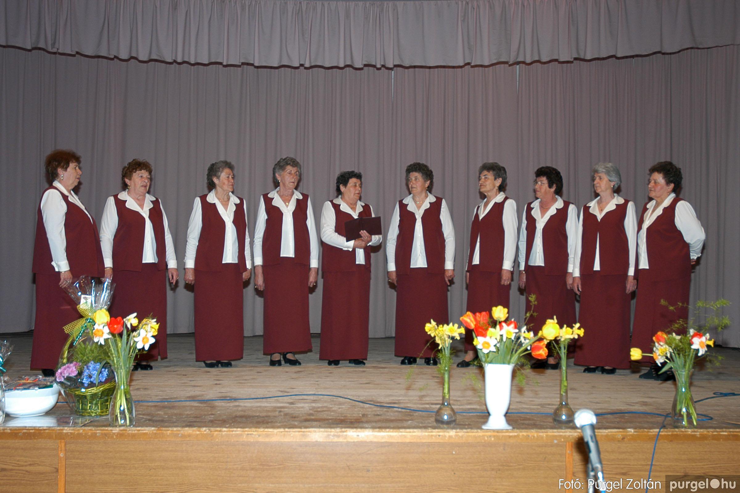 2005.04.16. 015 Szép Öregkor Nyugdíjas Klub tavaszi bál - Fotó:PURGEL ZOLTÁN© DSC_0030q.jpg