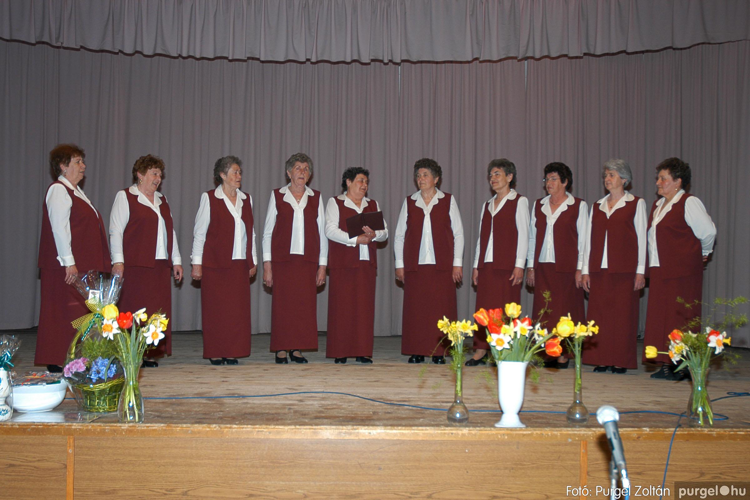 2005.04.16. 014 Szép Öregkor Nyugdíjas Klub tavaszi bál - Fotó:PURGEL ZOLTÁN© DSC_0029q.jpg