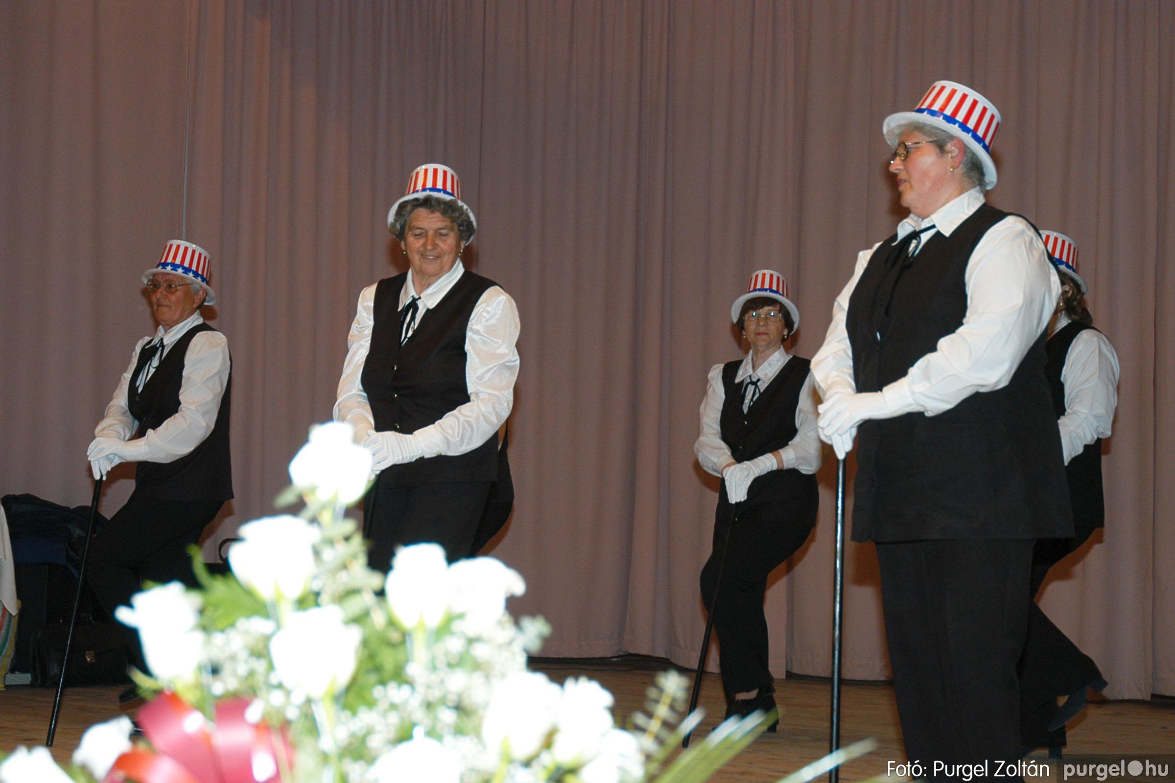 2005.04.16. 013 Szép Öregkor Nyugdíjas Klub tavaszi bál - Fotó:PURGEL ZOLTÁN© DSC_0028q.jpg