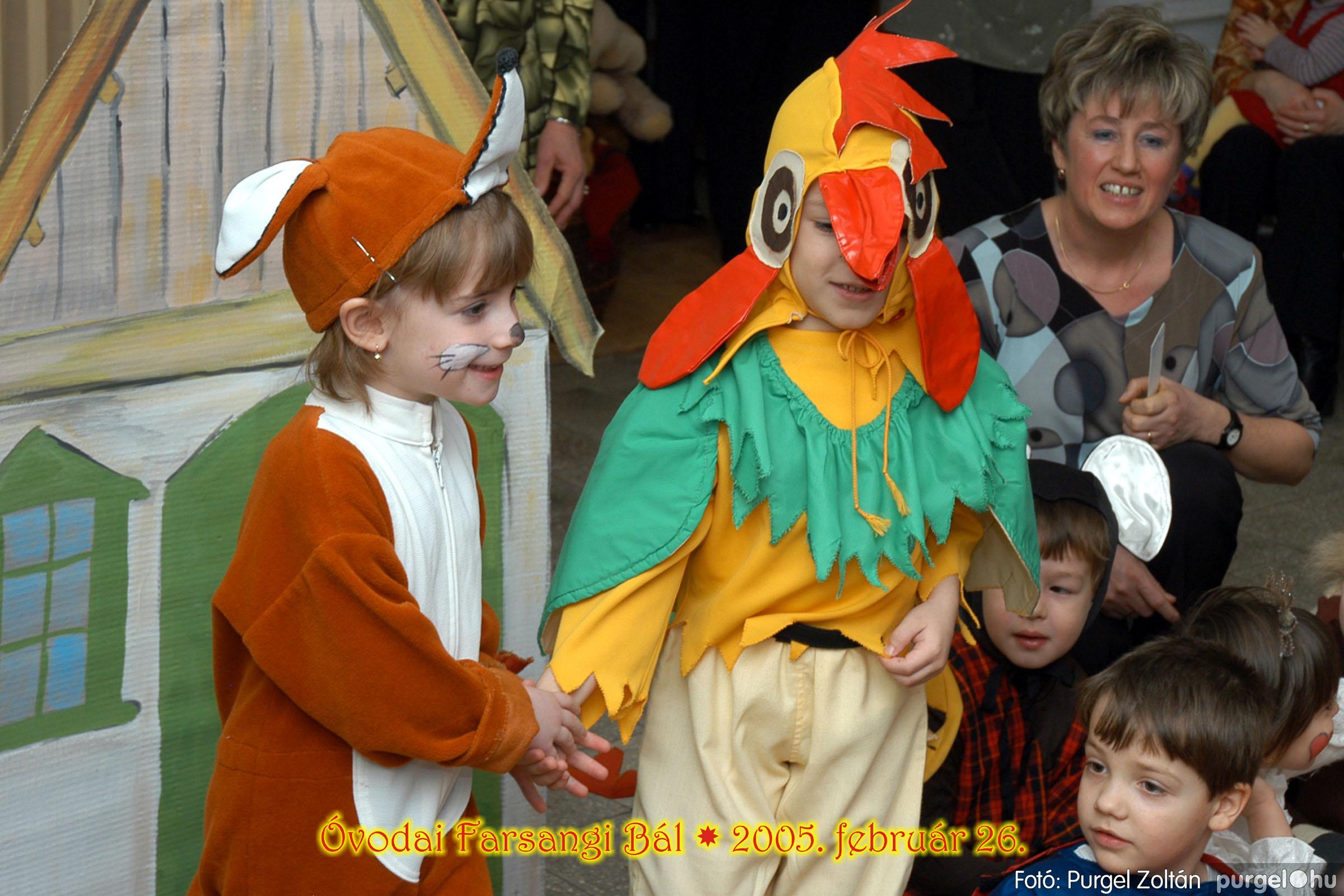 2005.02.26. 062 Kurca-parti Óvoda farsang 2005. Eszterlánc csoport - Fotó:PURGEL ZOLTÁN© 01.jpg
