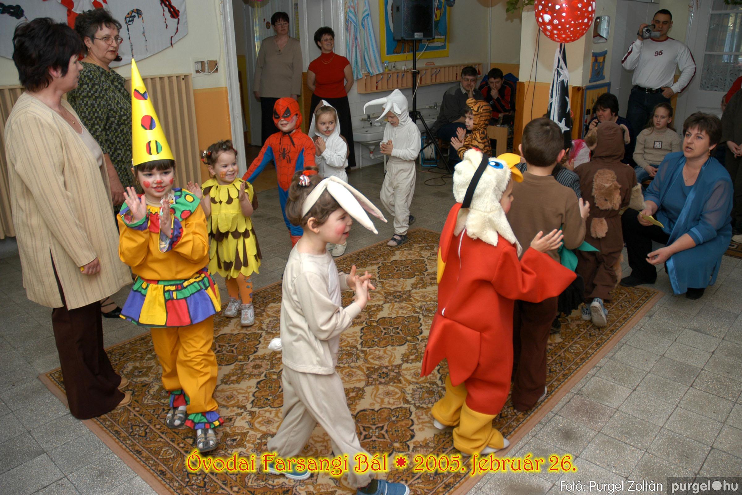 2005.02.26. 130 Kurca-parti Óvoda farsang 2005. Szivárvány csoport - Fotó:PURGEL ZOLTÁN© 13.jpg