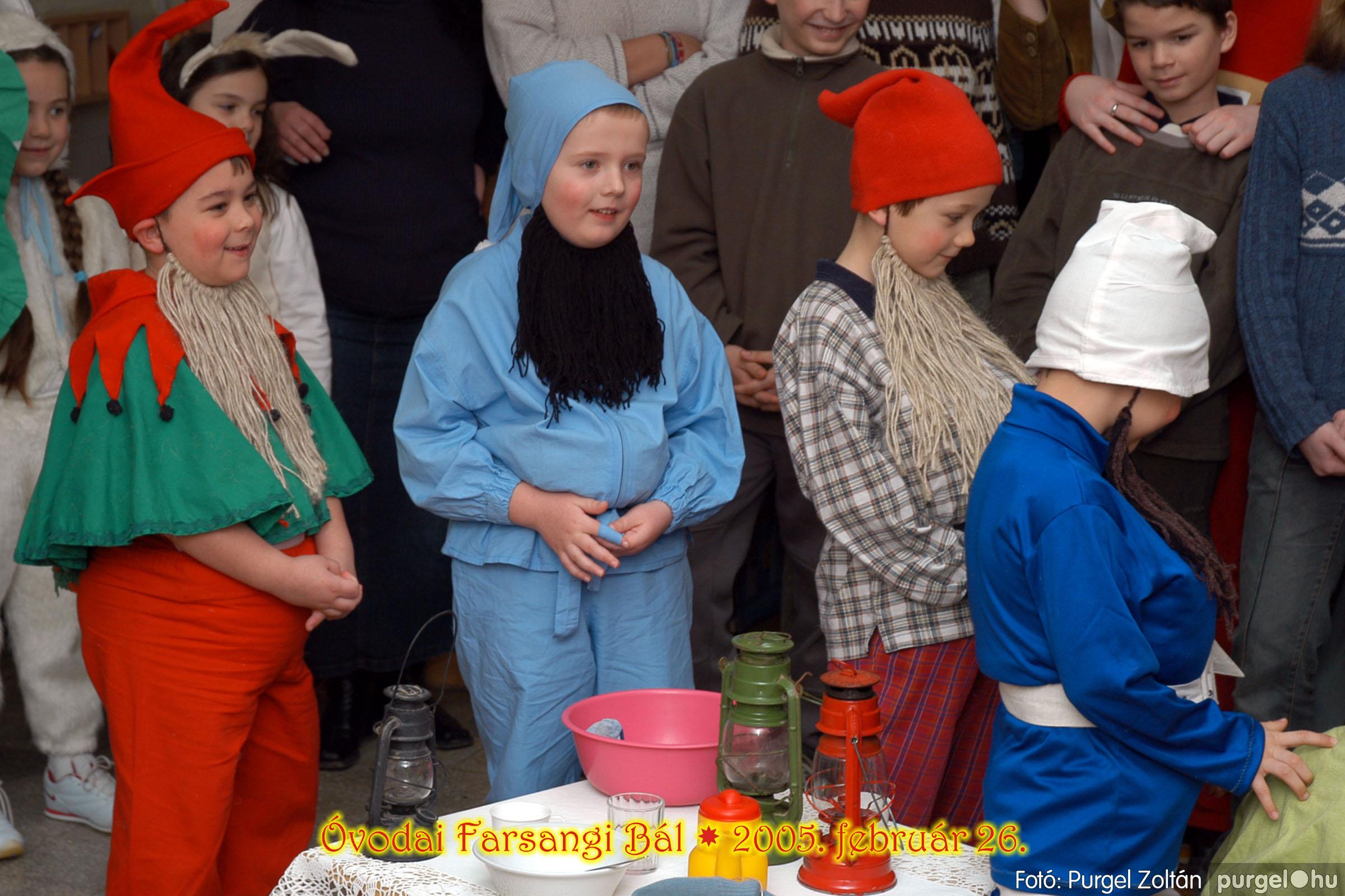 2005.02.26. 101 Kurca-parti Óvoda farsang 2005. Menő-Manó csoport - Fotó:PURGEL ZOLTÁN© 054.jpg