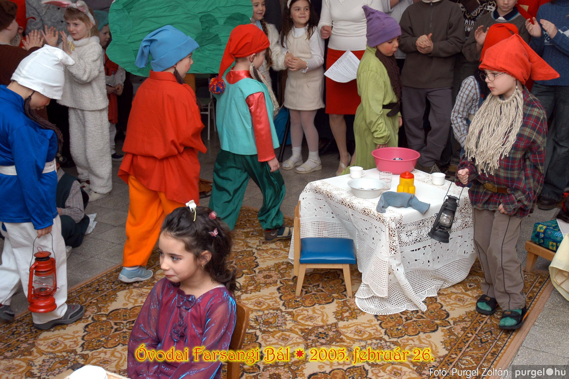 2005.02.26. 099 Kurca-parti Óvoda farsang 2005. Menő-Manó csoport - Fotó:PURGEL ZOLTÁN© 052.jpg