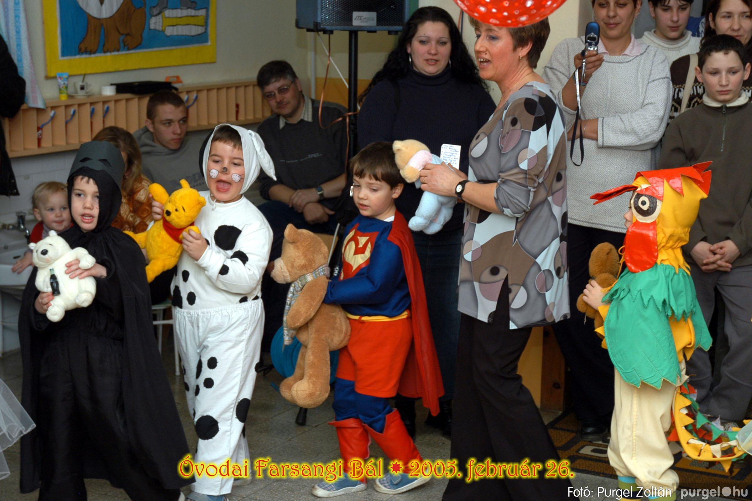 2005.02.26. 066 Kurca-parti Óvoda farsang 2005. Eszterlánc csoport - Fotó:PURGEL ZOLTÁN© 01.jpg