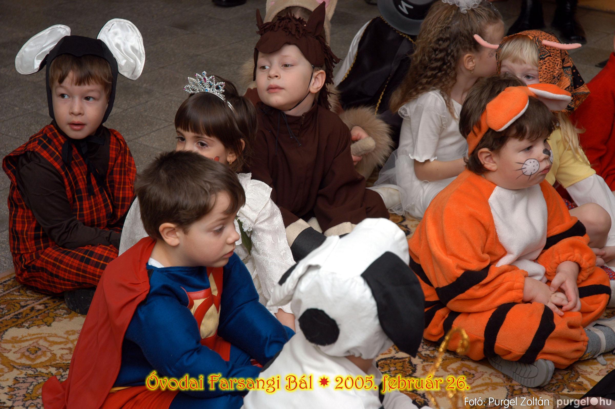 2005.02.26. 061 Kurca-parti Óvoda farsang 2005. Eszterlánc csoport - Fotó:PURGEL ZOLTÁN© 01.jpg