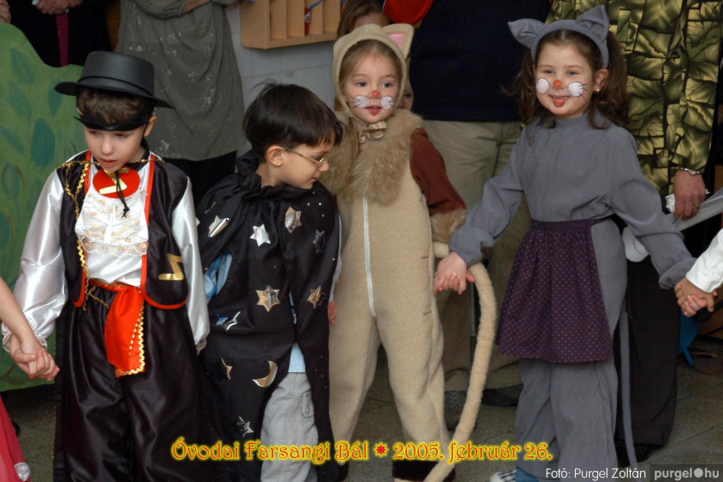 2005.02.26. 055 Kurca-parti Óvoda farsang 2005. Eszterlánc csoport - Fotó:PURGEL ZOLTÁN© 00.jpg