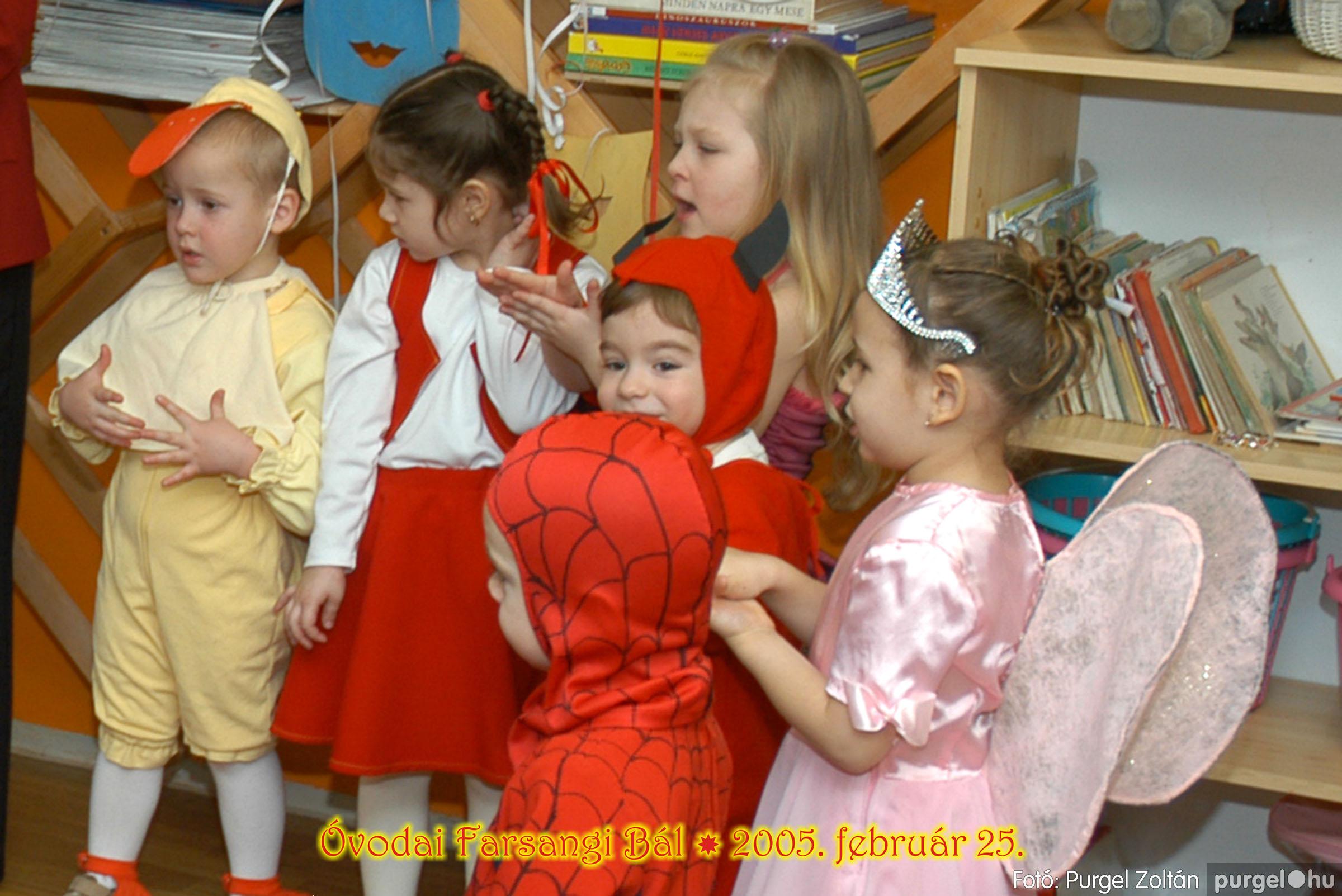 2005.02.25. 040 Kurca-parti Óvoda farsang 2005. Nyitnikék csoport - Fotó:PURGEL ZOLTÁN© 115.jpg