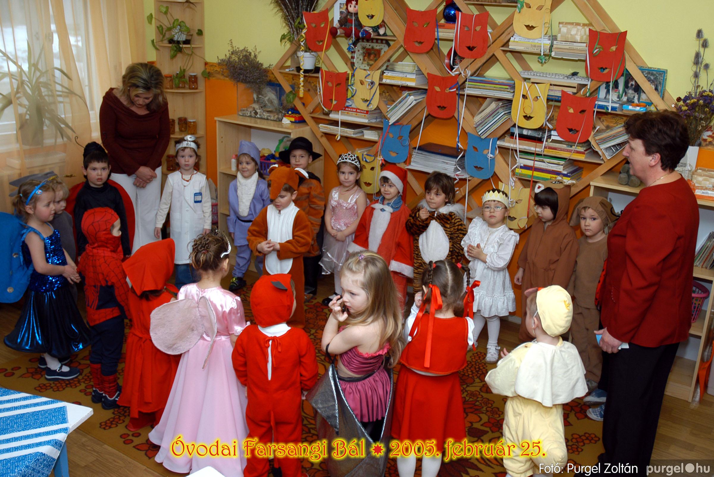 2005.02.25. 029 Kurca-parti Óvoda farsang 2005. Nyitnikék csoport - Fotó:PURGEL ZOLTÁN© 104.jpg