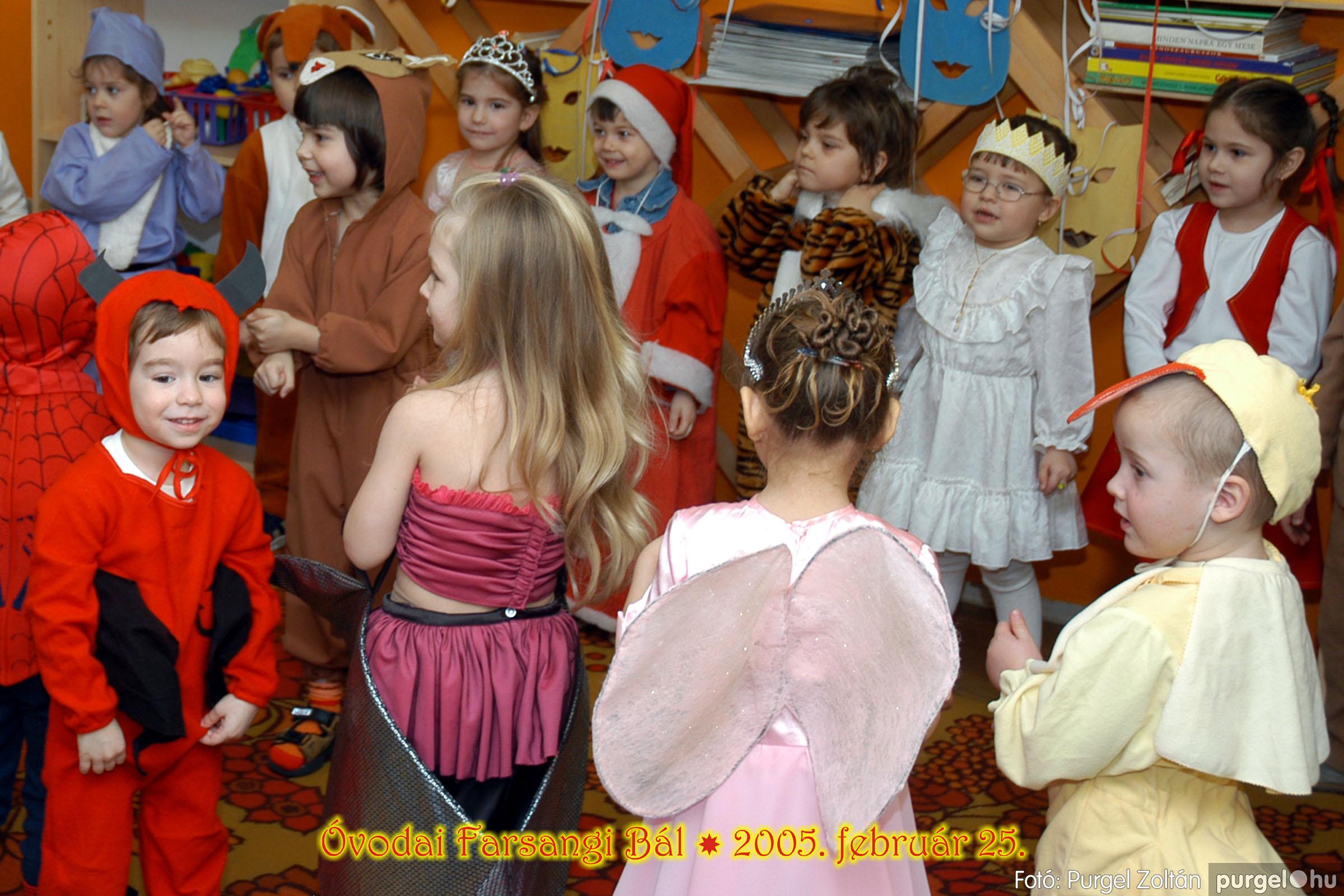 2005.02.25. 028 Kurca-parti Óvoda farsang 2005. Nyitnikék csoport - Fotó:PURGEL ZOLTÁN© 103.jpg