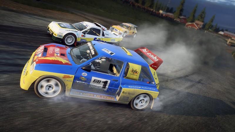 MG Metro 6R4 Rallycross