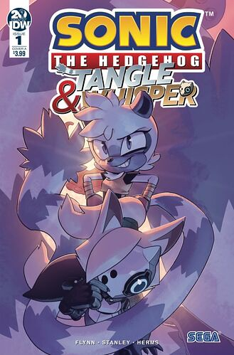 IDW Tangle Whisper 1 Cover A