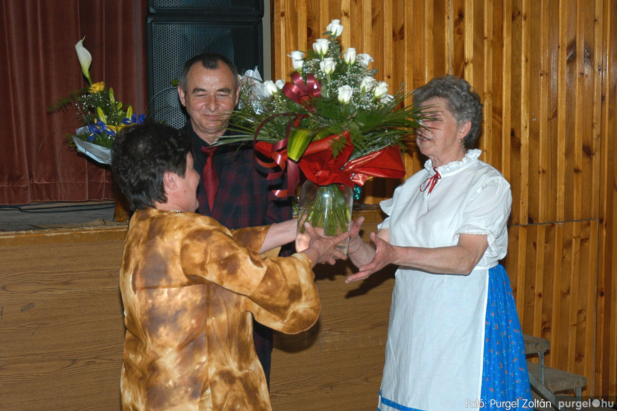 2005.04.16. 049 Szép Öregkor Nyugdíjas Klub tavaszi bál - Fotó:PURGEL ZOLTÁN© DSC_0069q.jpg