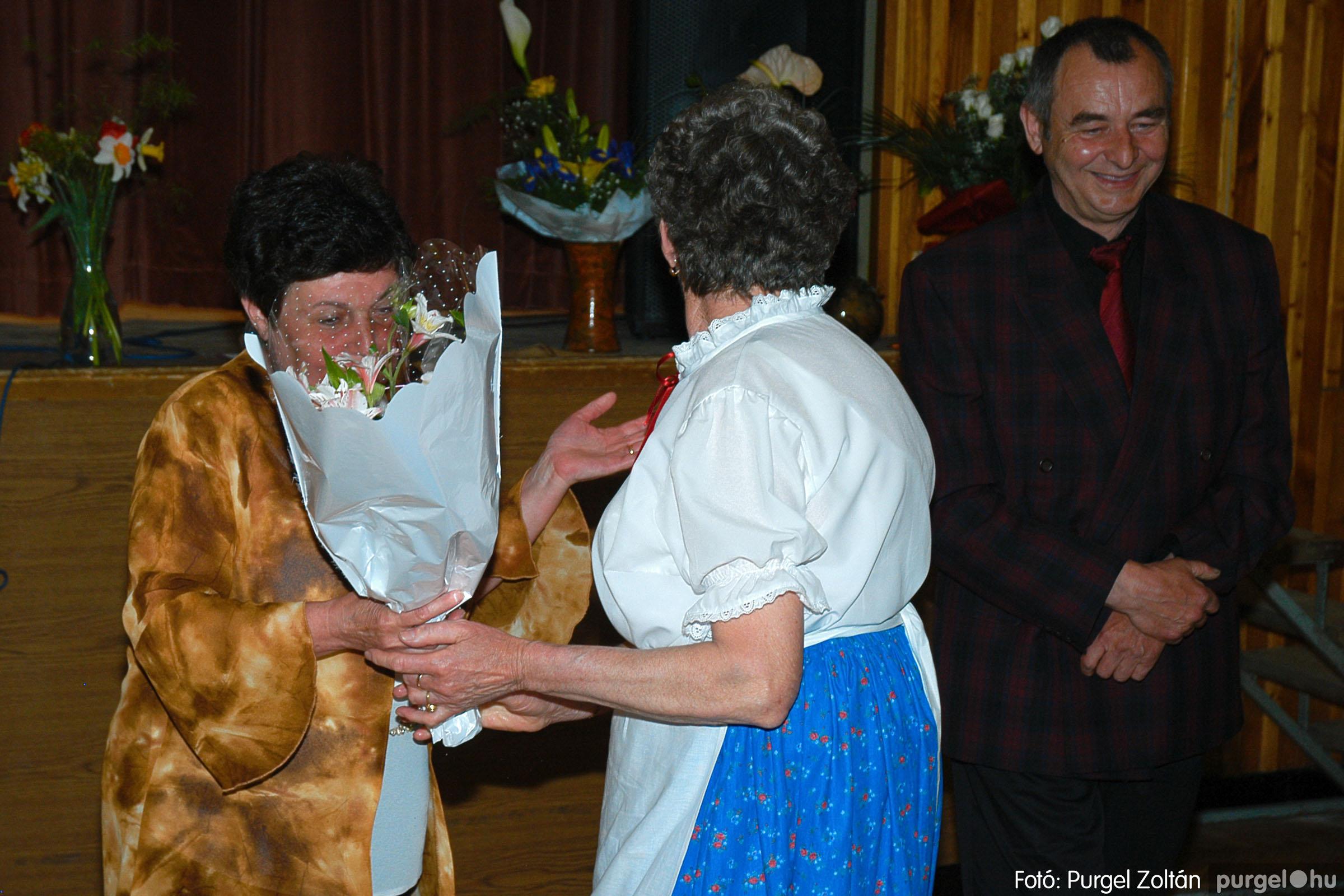 2005.04.16. 053 Szép Öregkor Nyugdíjas Klub tavaszi bál - Fotó:PURGEL ZOLTÁN© DSC_0074q.jpg