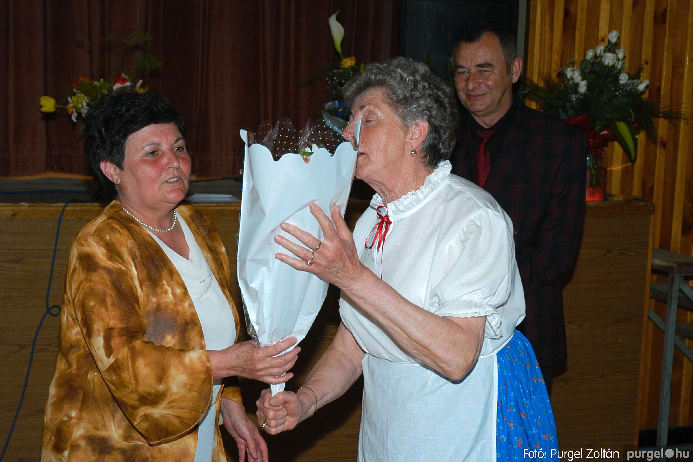 2005.04.16. 052 Szép Öregkor Nyugdíjas Klub tavaszi bál - Fotó:PURGEL ZOLTÁN© DSC_0073q.jpg
