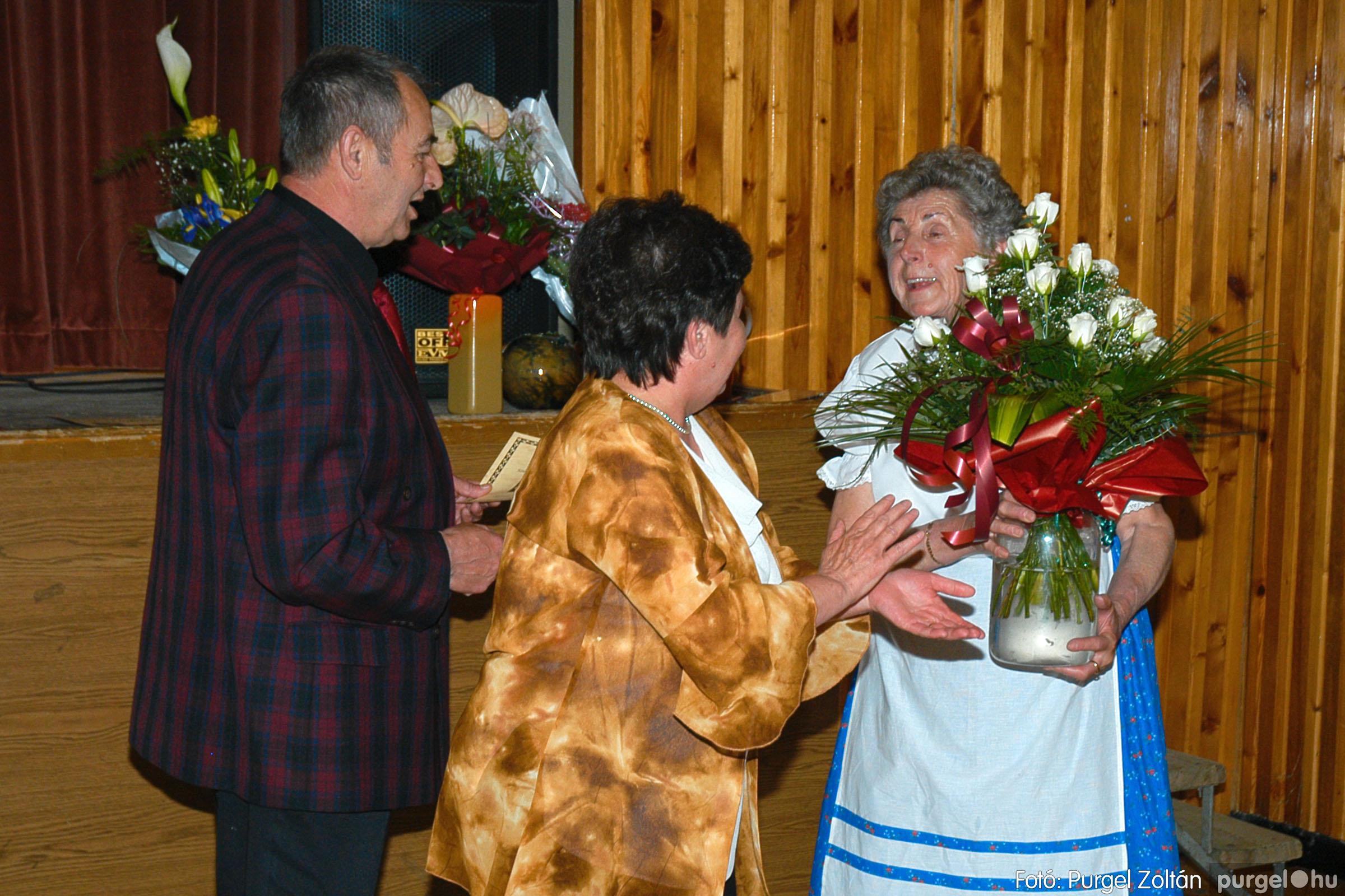 2005.04.16. 051 Szép Öregkor Nyugdíjas Klub tavaszi bál - Fotó:PURGEL ZOLTÁN© DSC_0071q.jpg
