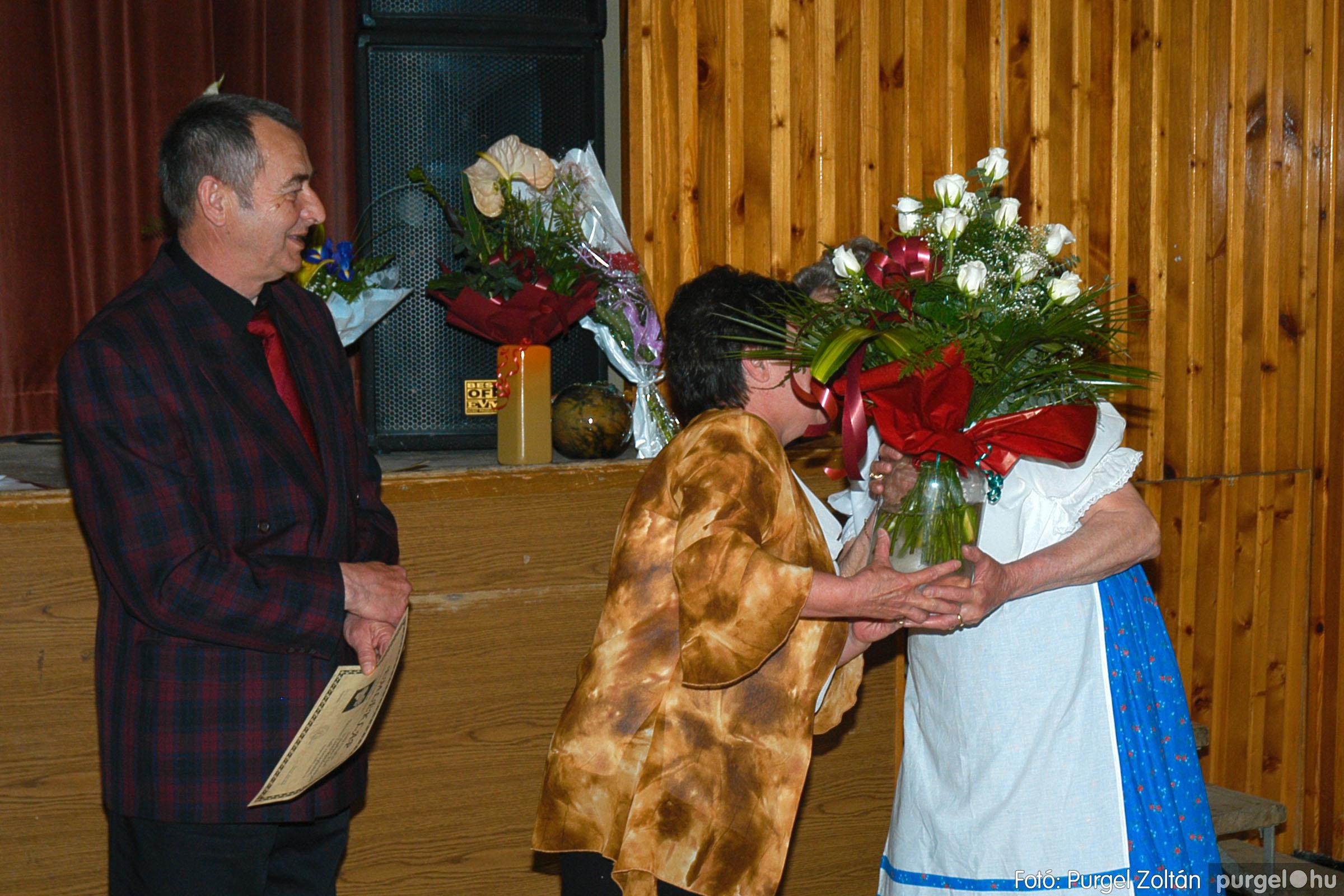 2005.04.16. 050 Szép Öregkor Nyugdíjas Klub tavaszi bál - Fotó:PURGEL ZOLTÁN© DSC_0070q.jpg