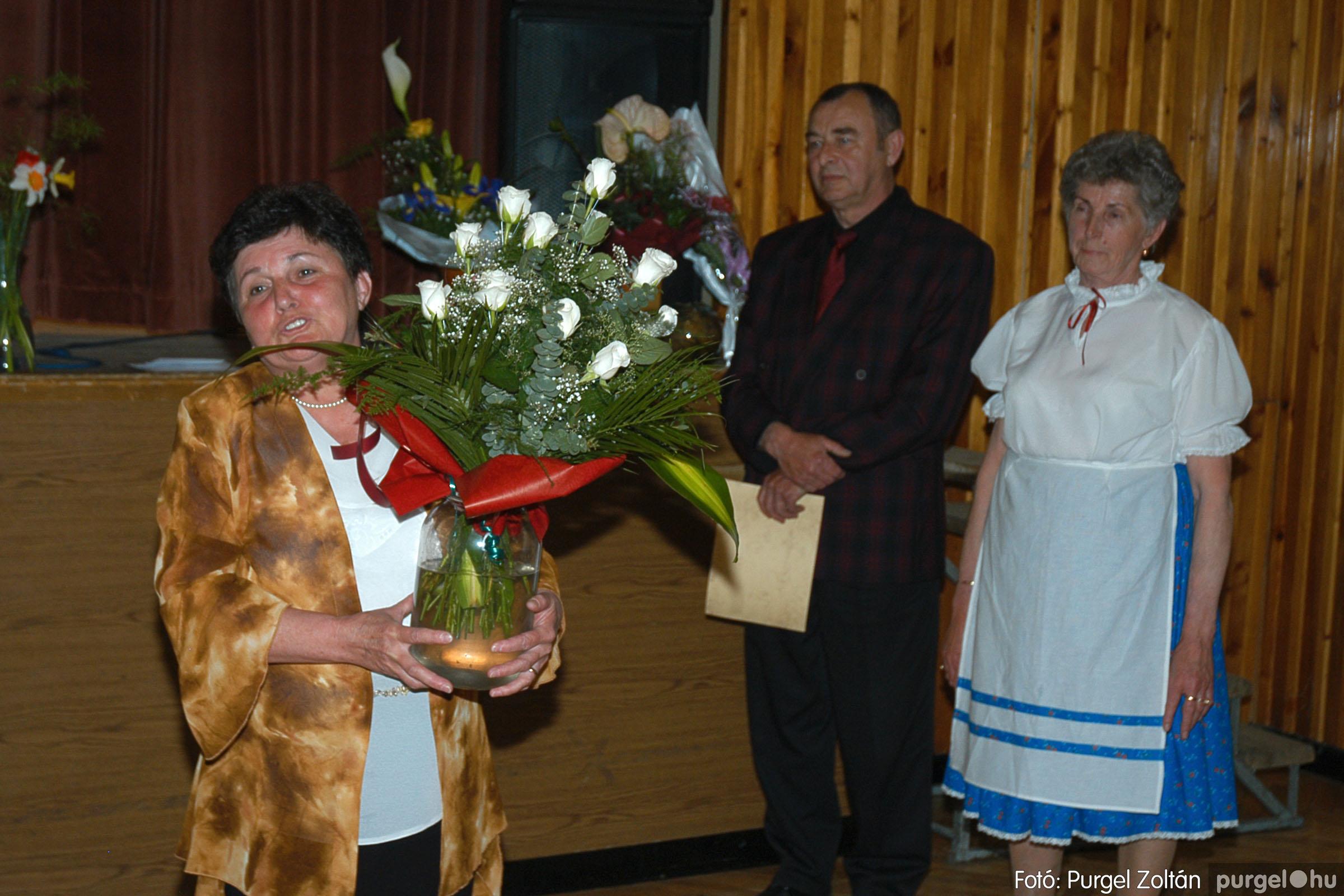 2005.04.16. 048 Szép Öregkor Nyugdíjas Klub tavaszi bál - Fotó:PURGEL ZOLTÁN© DSC_0068q.jpg