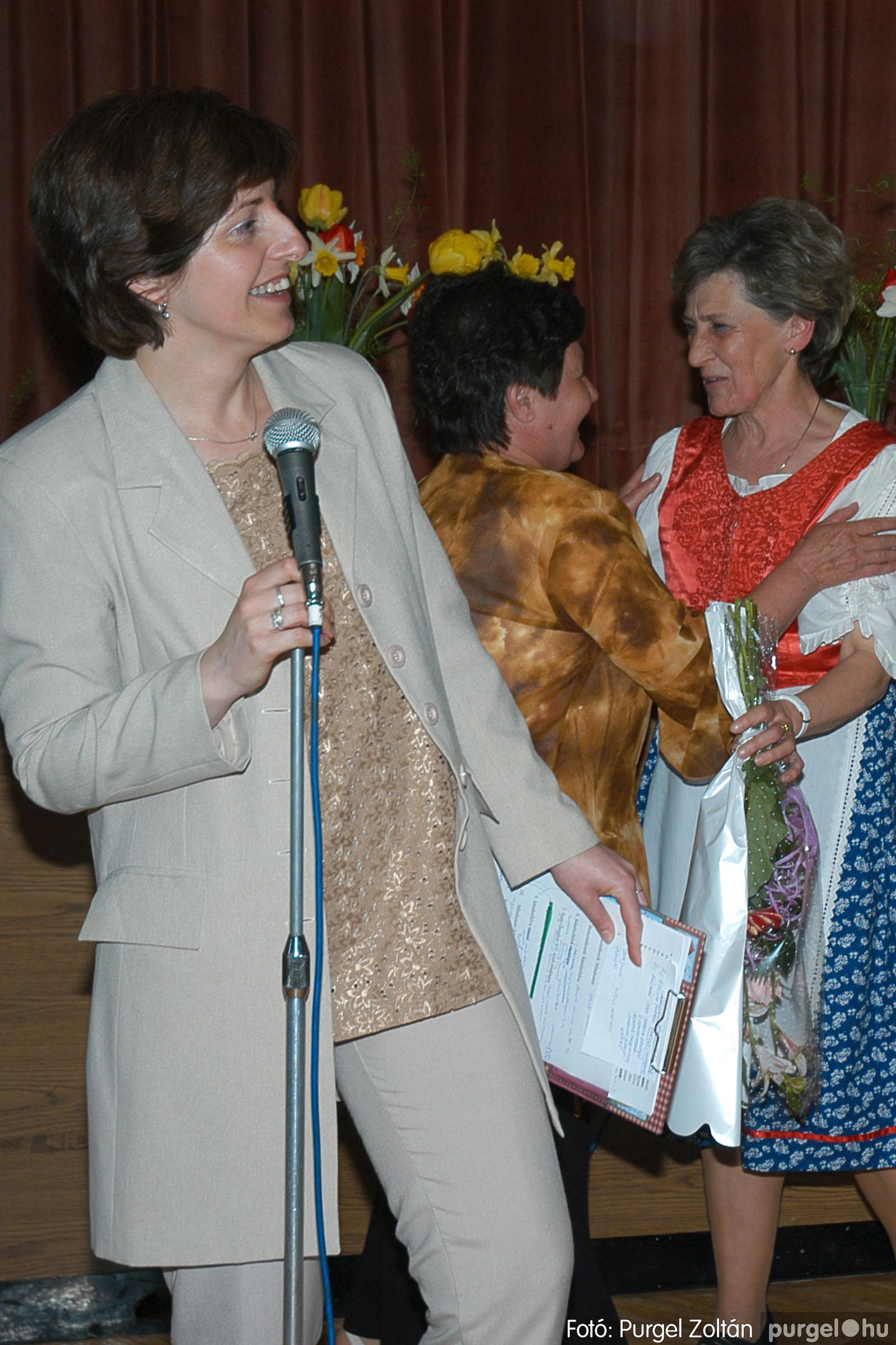 2005.04.16. 045 Szép Öregkor Nyugdíjas Klub tavaszi bál - Fotó:PURGEL ZOLTÁN© DSC_0065q.jpg