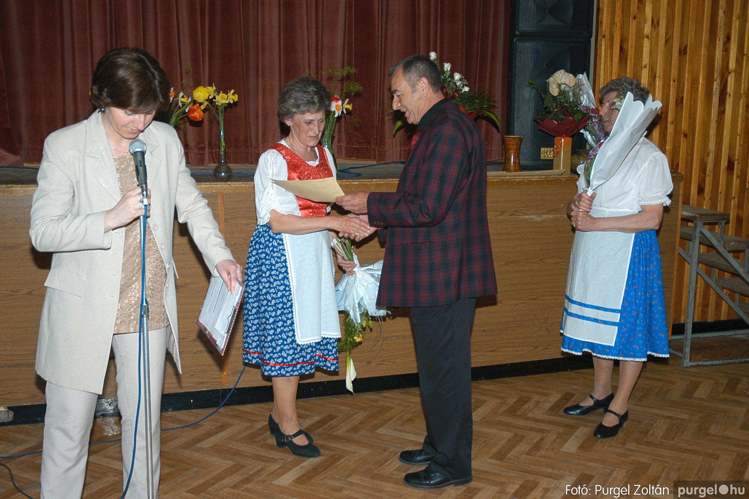 2005.04.16. 043 Szép Öregkor Nyugdíjas Klub tavaszi bál - Fotó:PURGEL ZOLTÁN© DSC_0063q.jpg