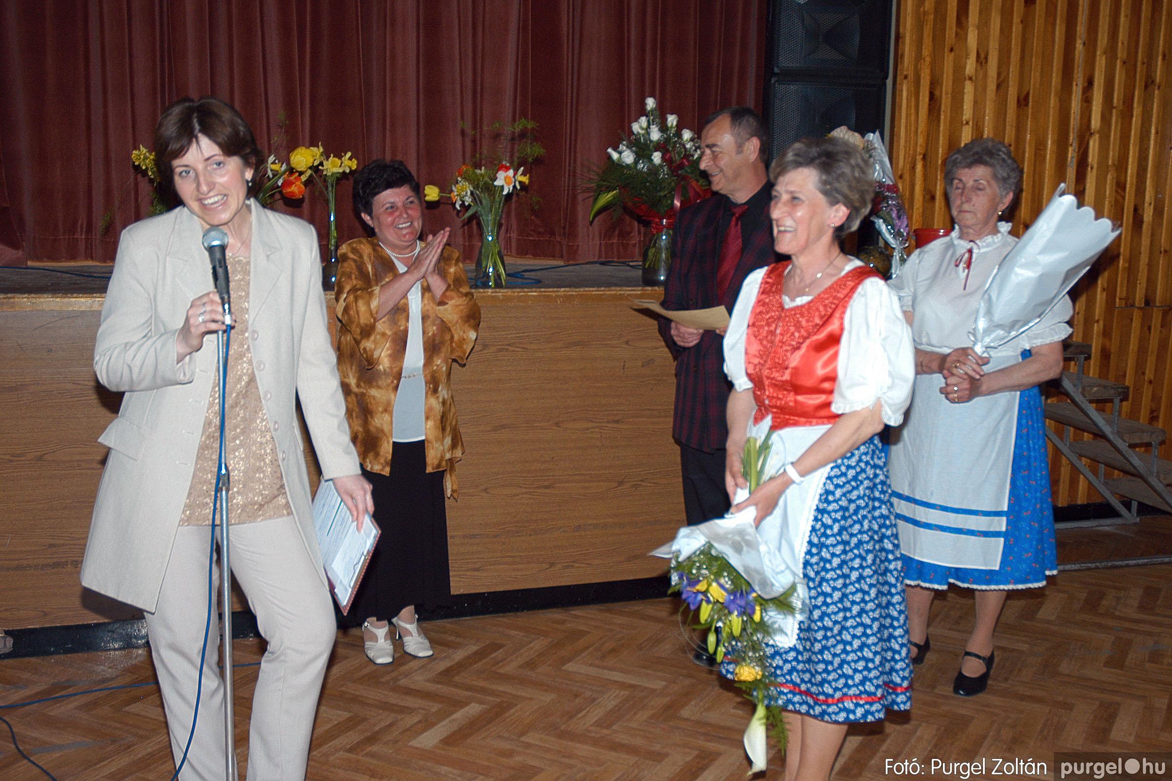 2005.04.16. 041 Szép Öregkor Nyugdíjas Klub tavaszi bál - Fotó:PURGEL ZOLTÁN© DSC_0061q.jpg