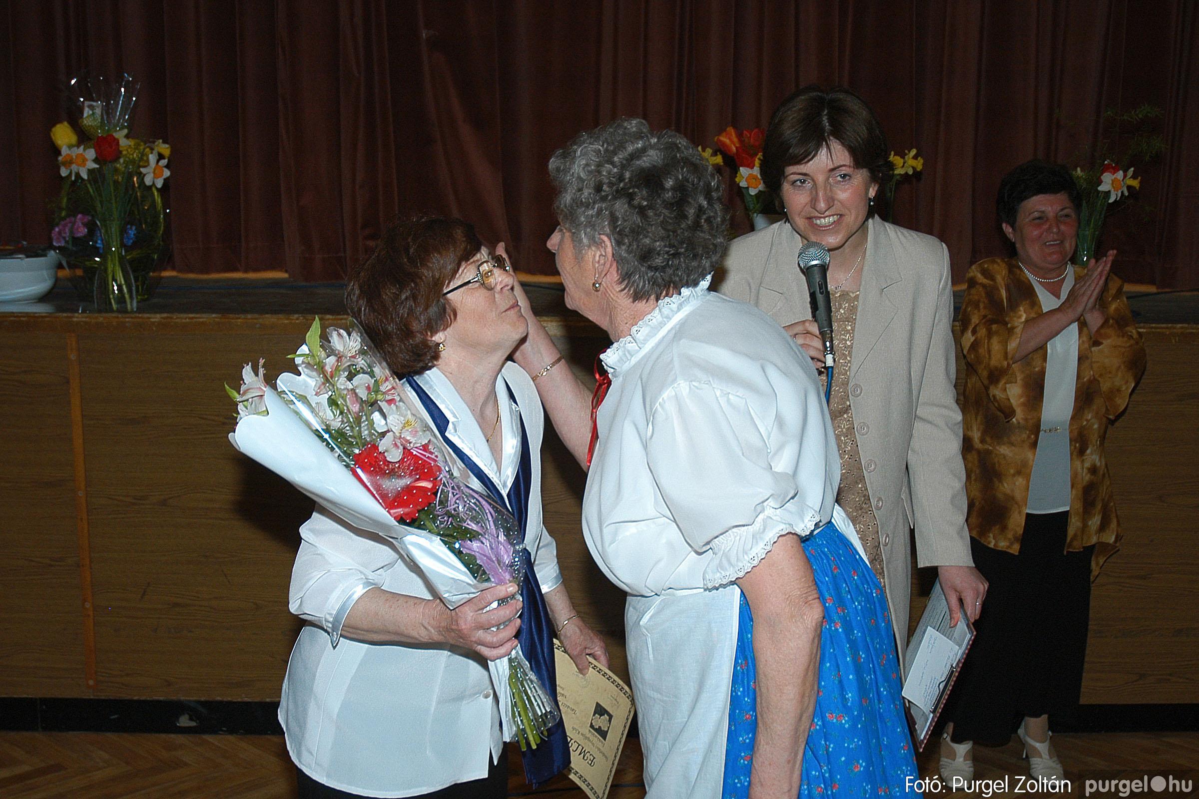 2005.04.16. 040 Szép Öregkor Nyugdíjas Klub tavaszi bál - Fotó:PURGEL ZOLTÁN© DSC_0060q.jpg