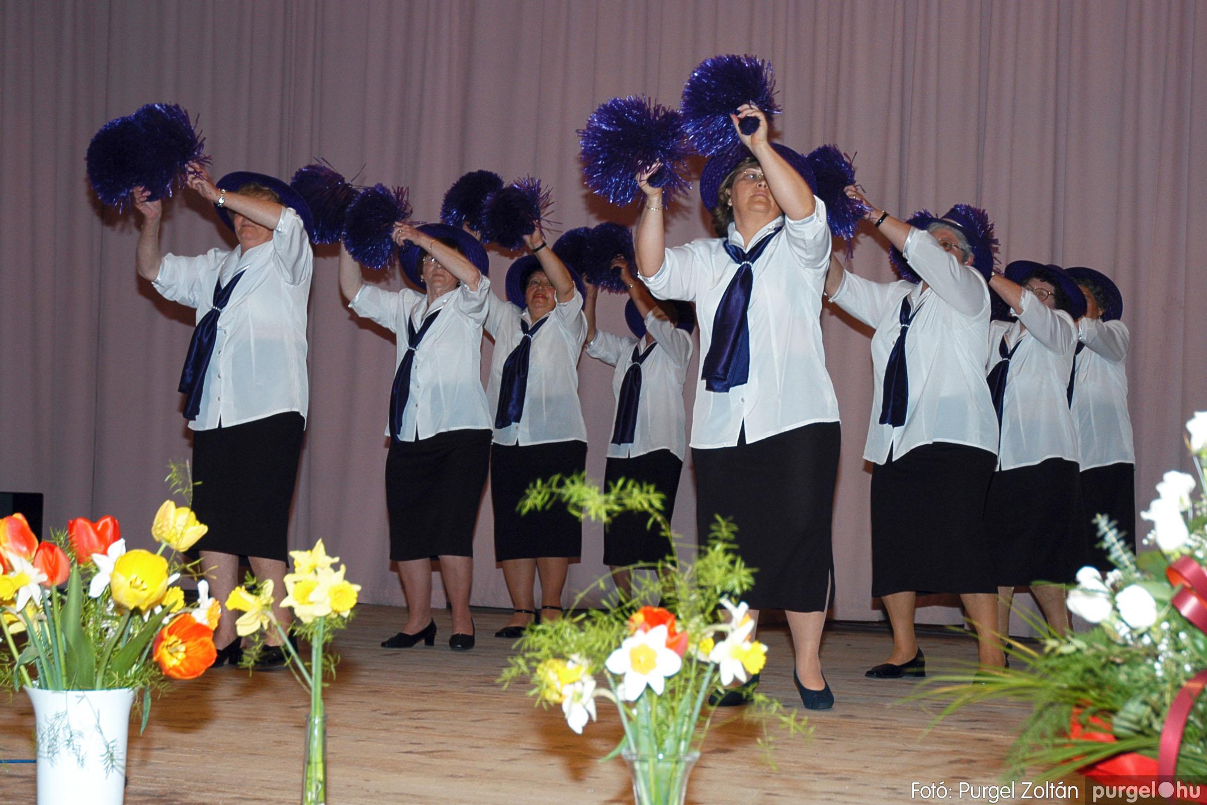 2005.04.16. 034 Szép Öregkor Nyugdíjas Klub tavaszi bál - Fotó:PURGEL ZOLTÁN© DSC_0051q.jpg