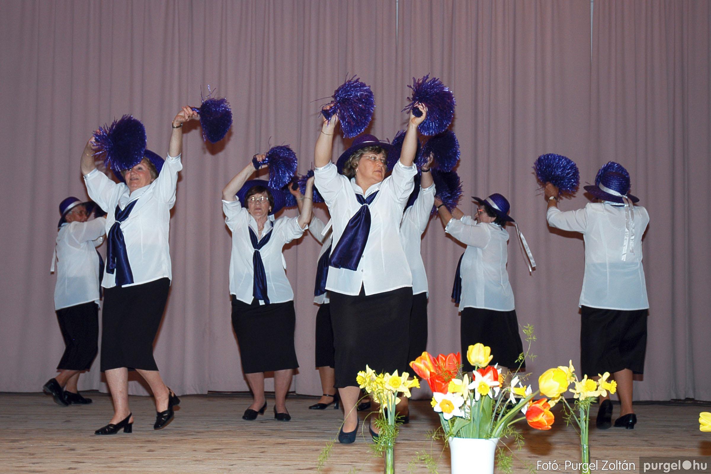 2005.04.16. 033 Szép Öregkor Nyugdíjas Klub tavaszi bál - Fotó:PURGEL ZOLTÁN© DSC_0049q.jpg