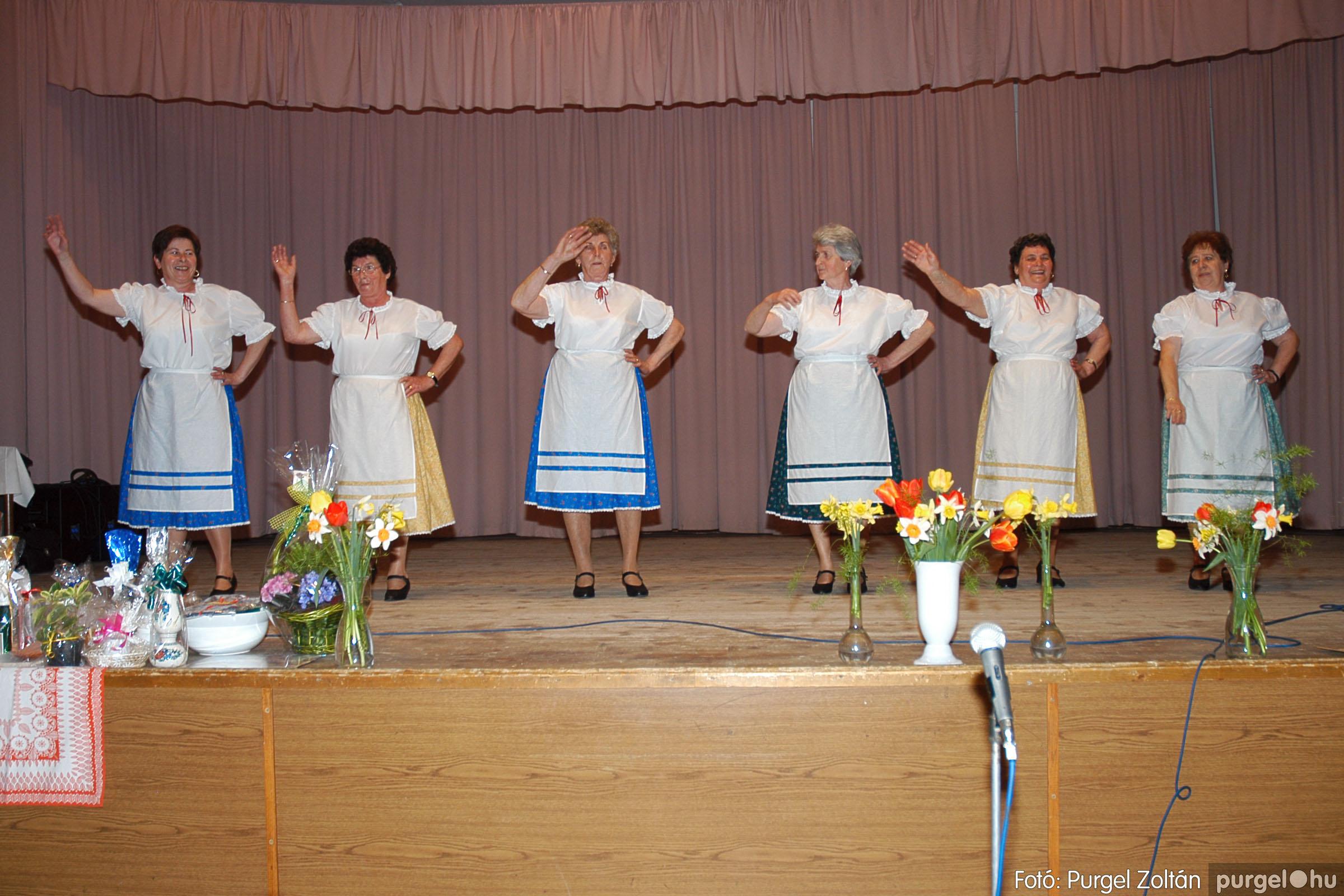 2005.04.16. 032 Szép Öregkor Nyugdíjas Klub tavaszi bál - Fotó:PURGEL ZOLTÁN© DSC_0048q.jpg