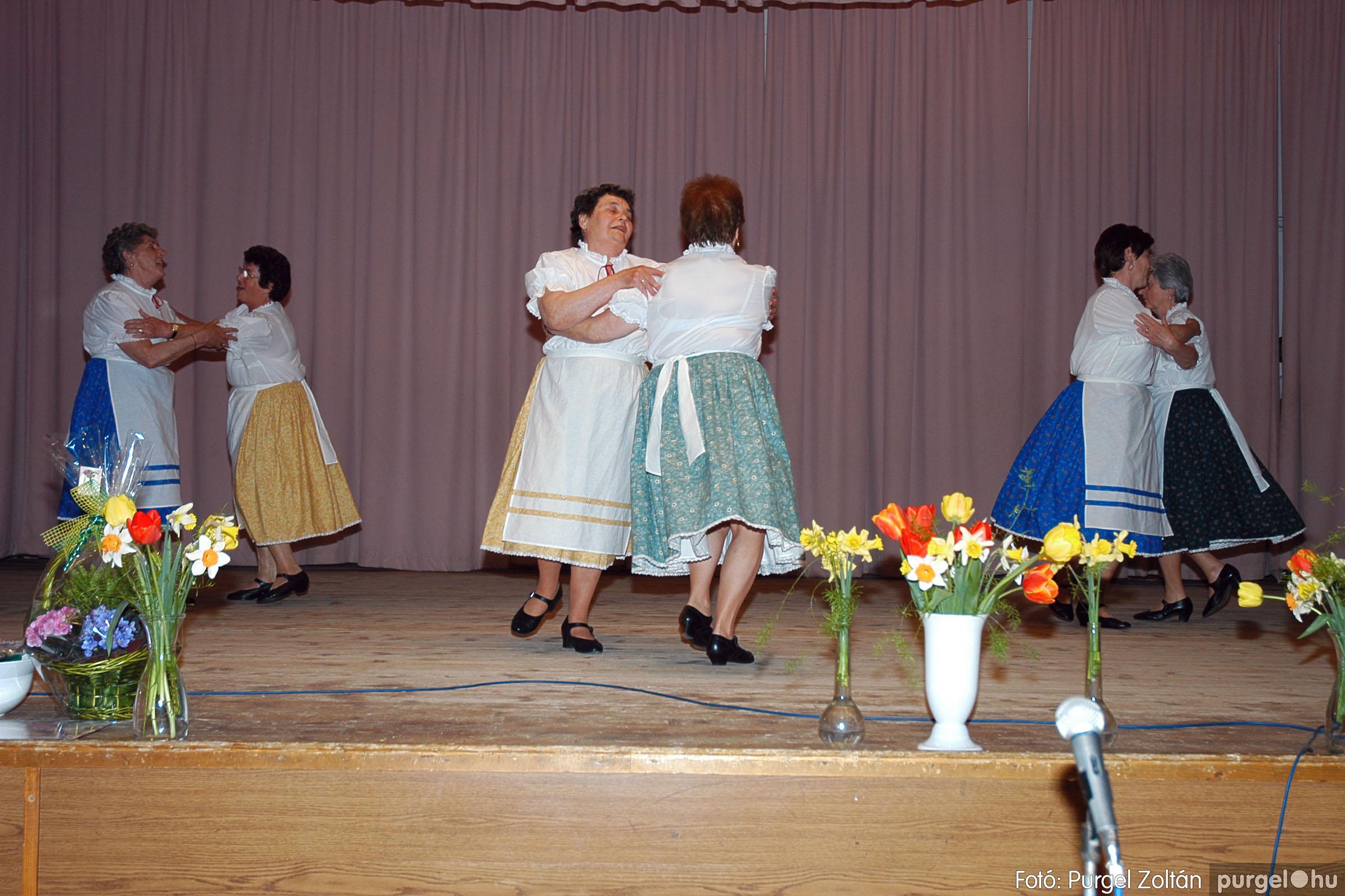 2005.04.16. 027 Szép Öregkor Nyugdíjas Klub tavaszi bál - Fotó:PURGEL ZOLTÁN© DSC_0042q.jpg
