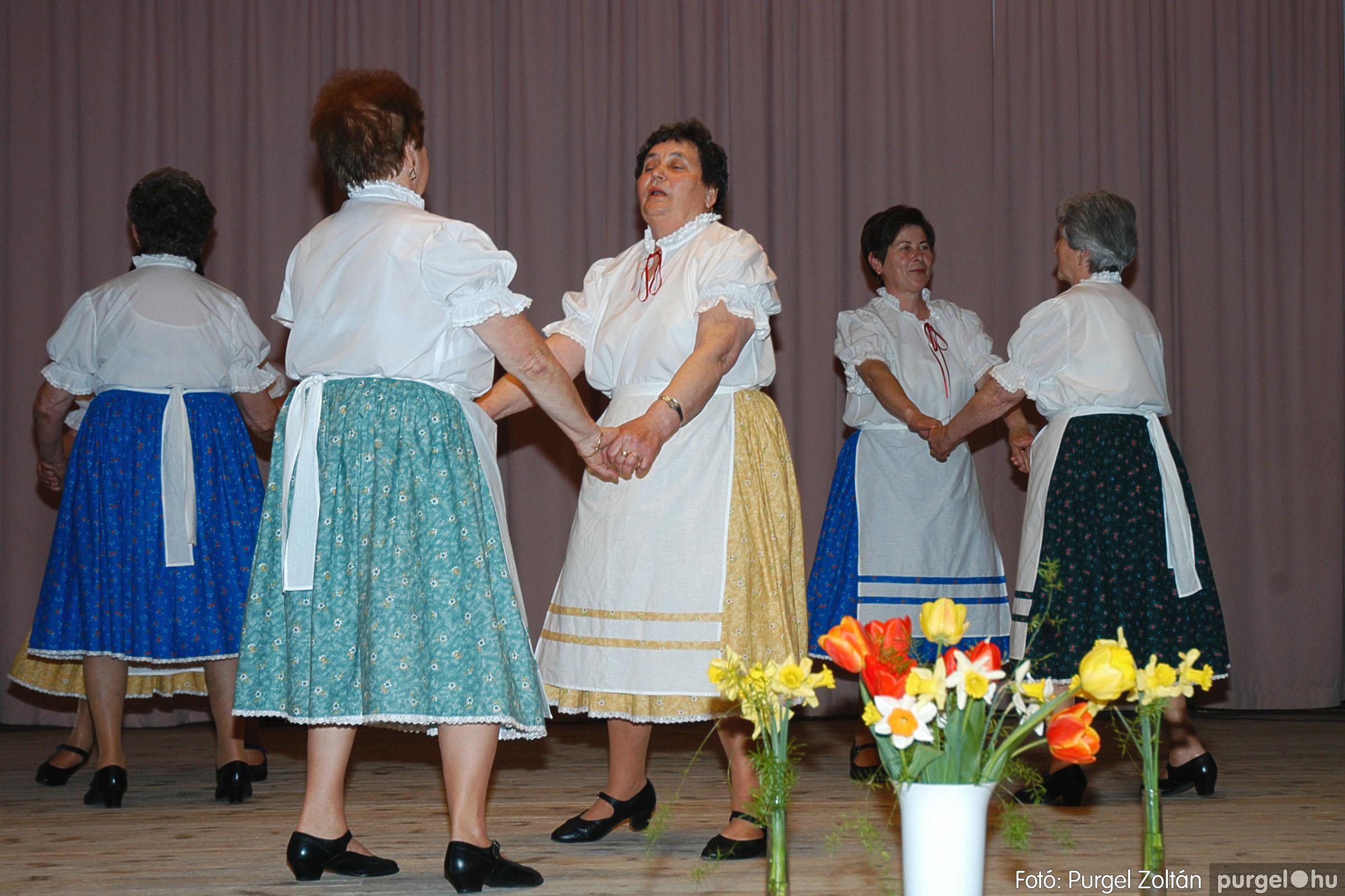 2005.04.16. 023 Szép Öregkor Nyugdíjas Klub tavaszi bál - Fotó:PURGEL ZOLTÁN© DSC_0038q.jpg