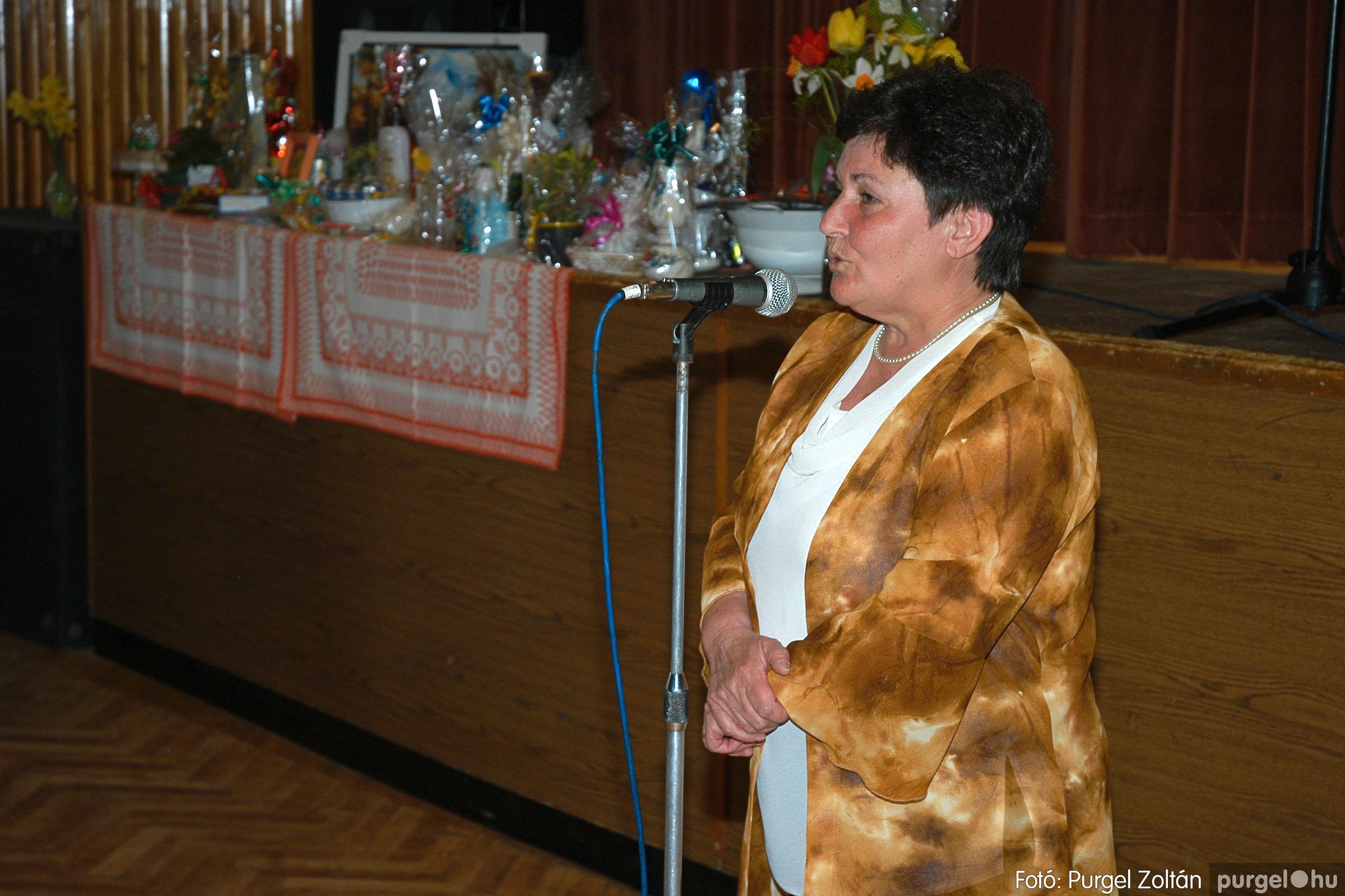 2005.04.16. 003 Szép Öregkor Nyugdíjas Klub tavaszi bál - Fotó:PURGEL ZOLTÁN© DSC_0016q.jpg