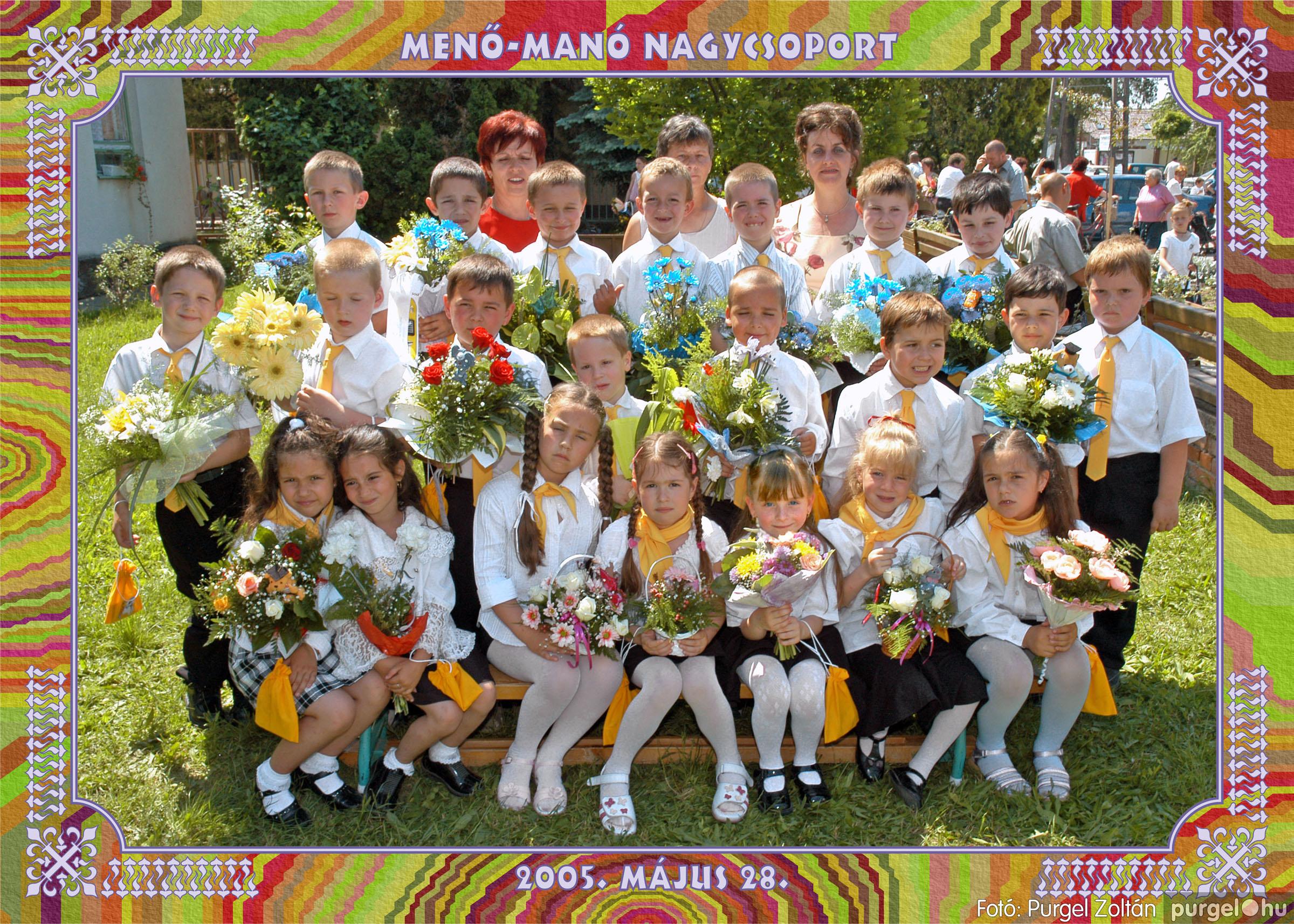 2005.05.11-28. 011 Kurca-parti Óvoda csoportképek 2005. - Fotó:PURGEL ZOLTÁN© 352.jpg