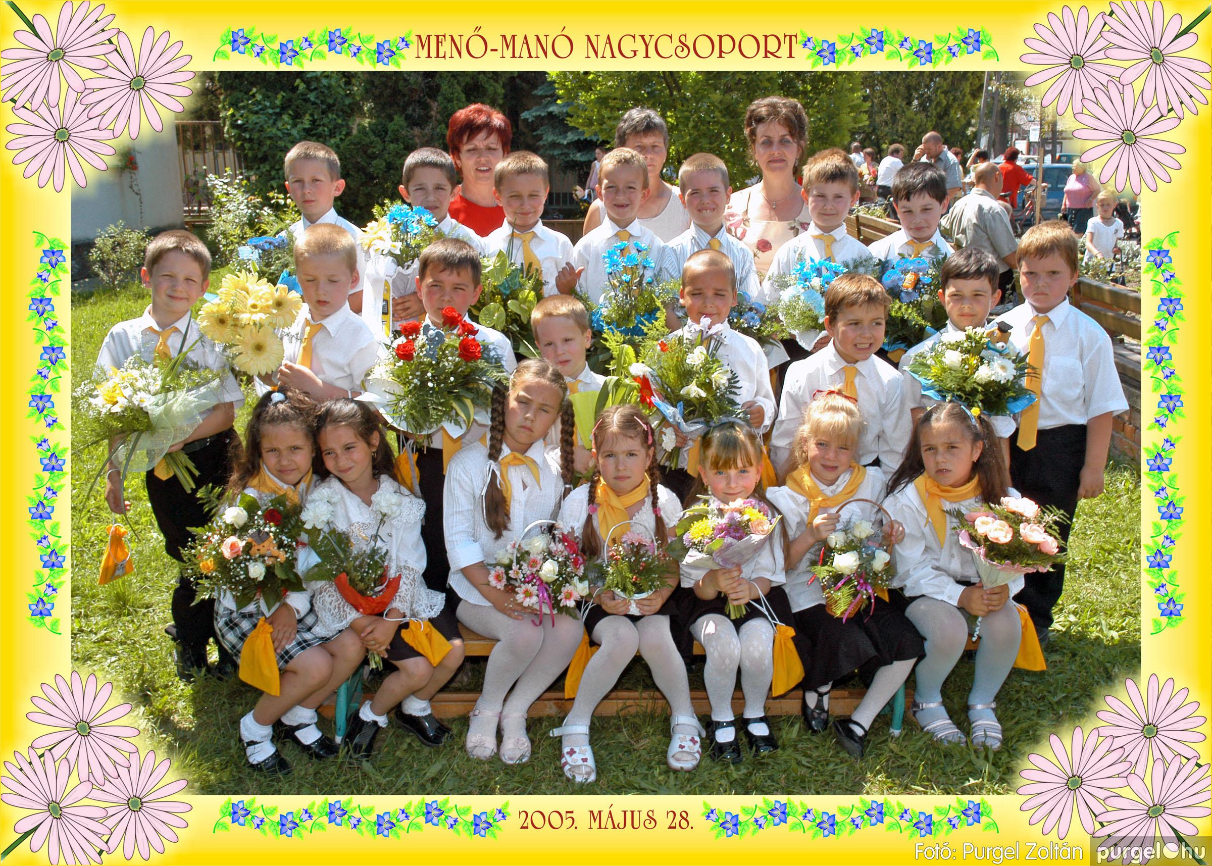 2005.05.11-28. 010 Kurca-parti Óvoda csoportképek 2005. - Fotó:PURGEL ZOLTÁN© 351.jpg