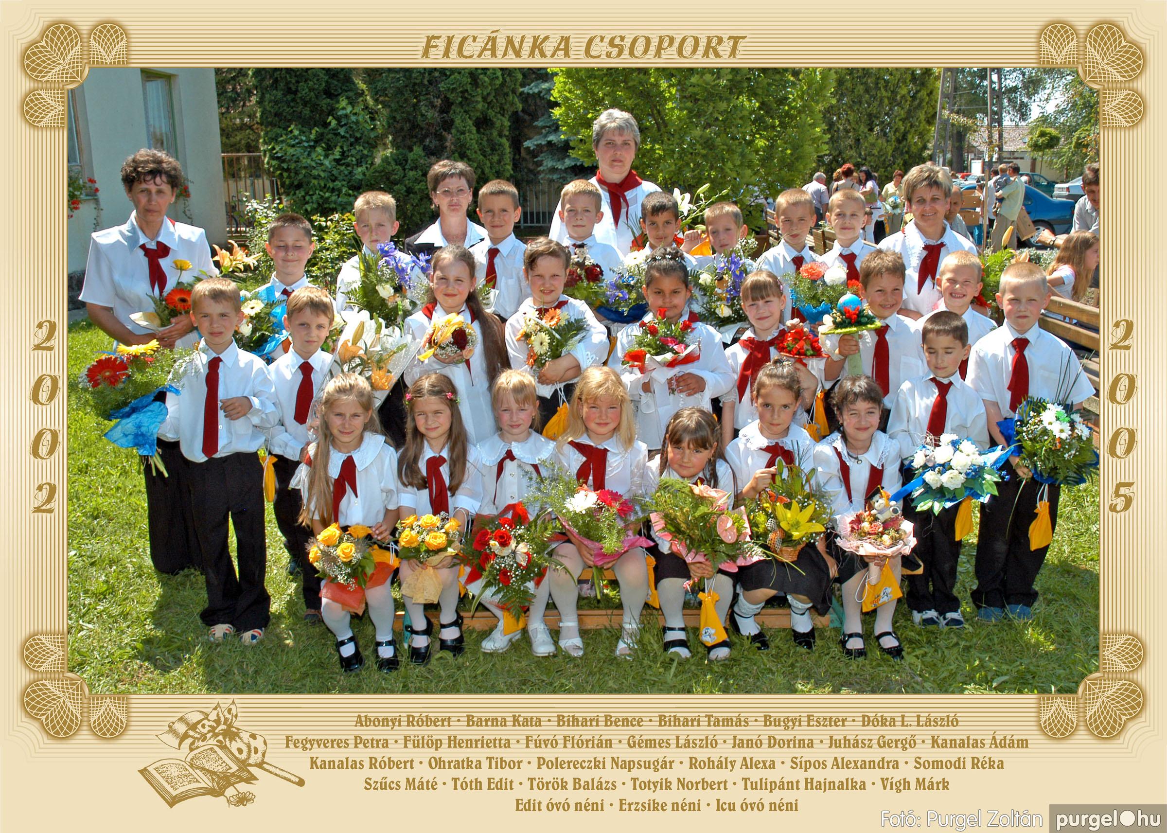 2005.05.11-28. 009 Kurca-parti Óvoda csoportképek 2005. - Fotó:PURGEL ZOLTÁN© 255.jpg