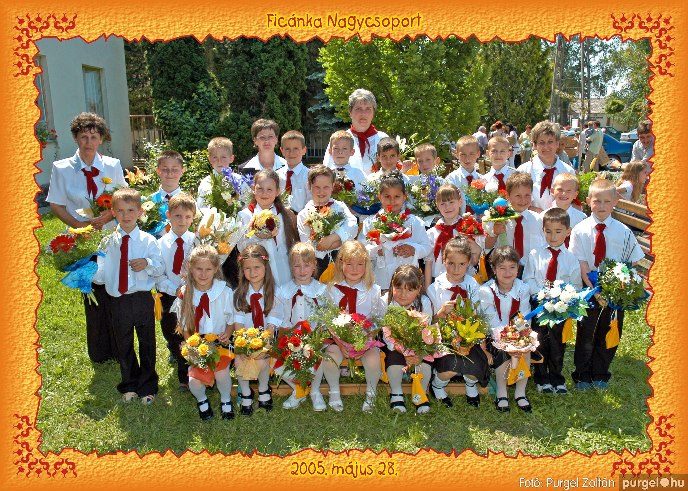 2005.05.11-28. 007 Kurca-parti Óvoda csoportképek 2005. - Fotó:PURGEL ZOLTÁN© 253.jpg