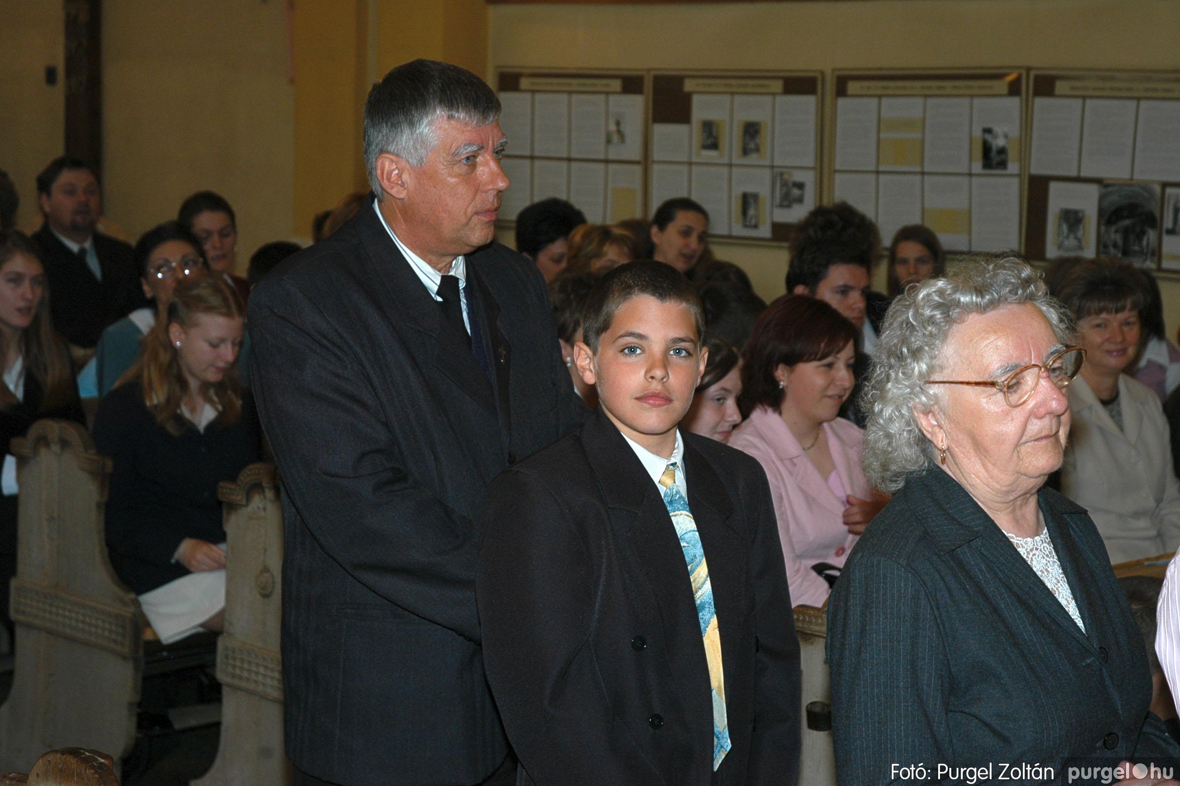 2005.05.15. 014 Kisboldogasszony templom bérmálkozás - Fotó:PURGEL ZOLTÁN© DSC_0017q.jpg