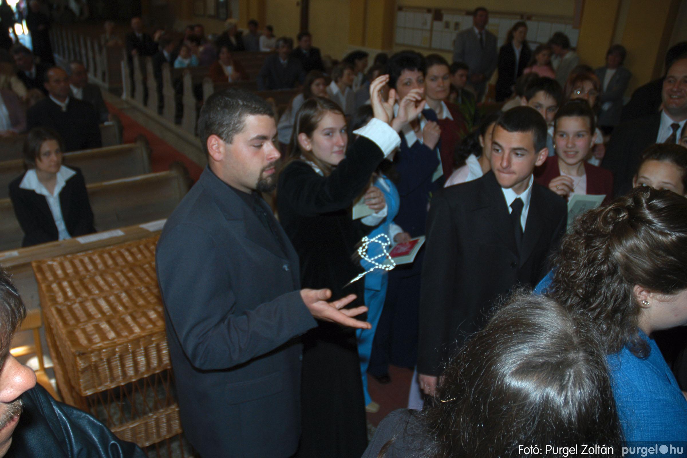 2005.05.15. 041 Kisboldogasszony templom bérmálkozás - Fotó:PURGEL ZOLTÁN© DSC_0051q.jpg