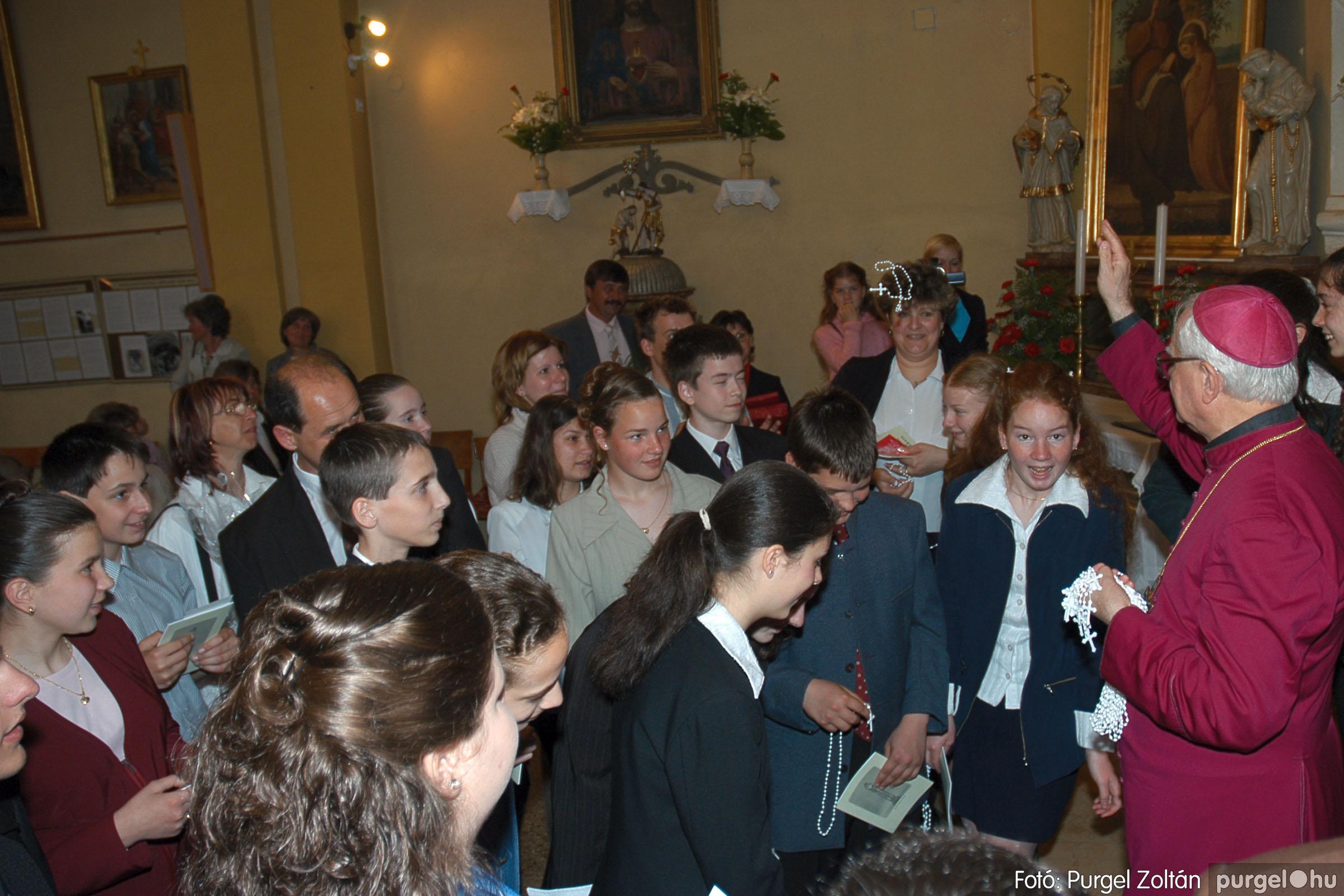 2005.05.15. 039 Kisboldogasszony templom bérmálkozás - Fotó:PURGEL ZOLTÁN© DSC_0049q.jpg