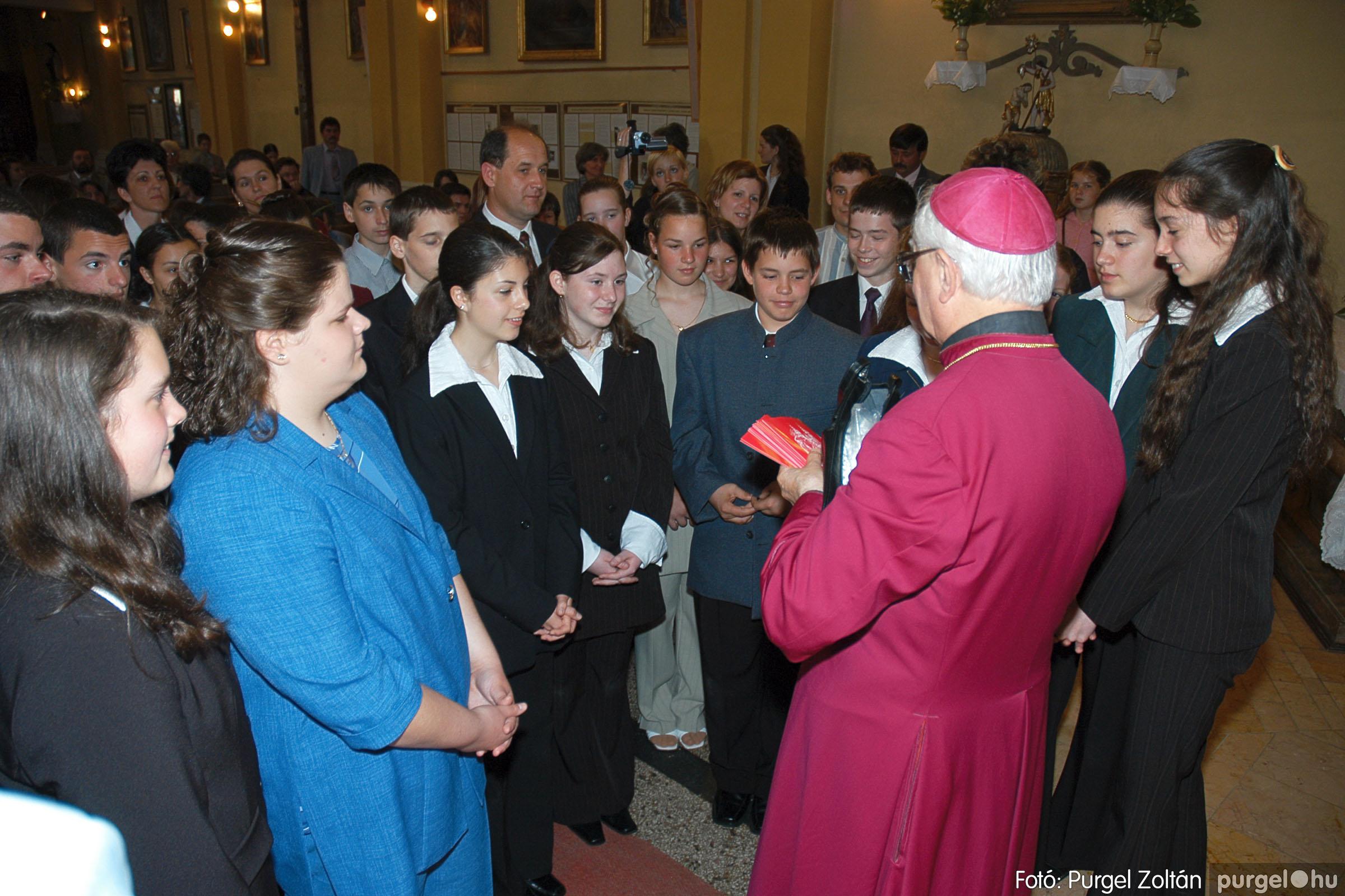 2005.05.15. 034 Kisboldogasszony templom bérmálkozás - Fotó:PURGEL ZOLTÁN© DSC_0042q.jpg