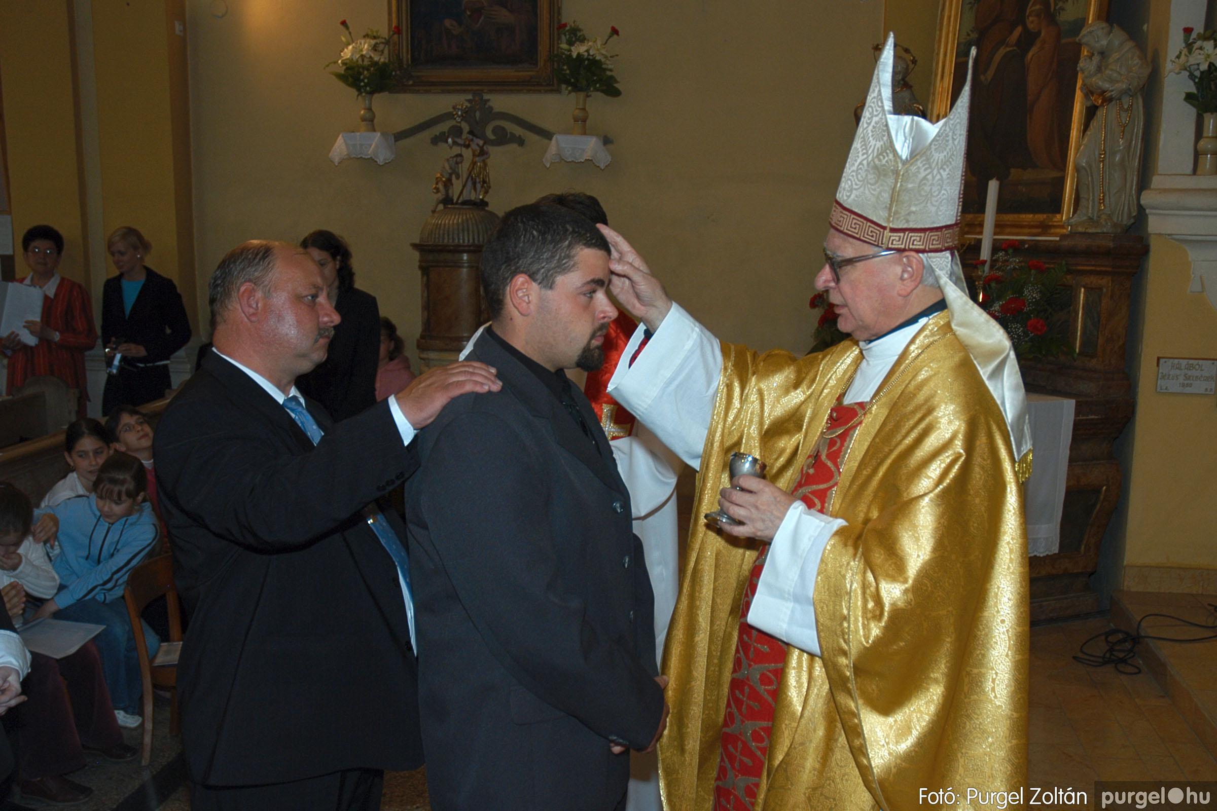 2005.05.15. 017 Kisboldogasszony templom bérmálkozás - Fotó:PURGEL ZOLTÁN© DSC_0023q.jpg