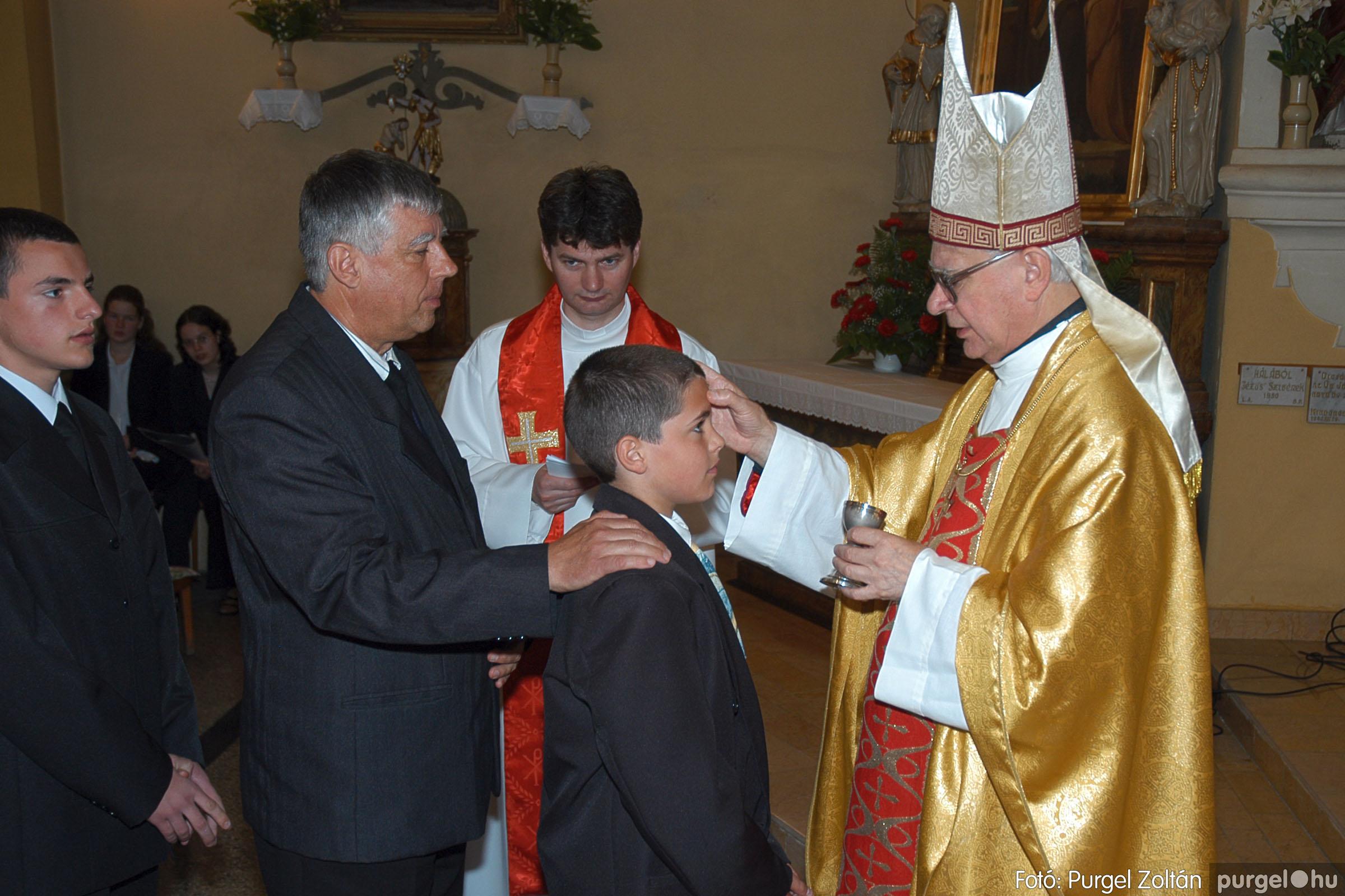 2005.05.15. 015 Kisboldogasszony templom bérmálkozás - Fotó:PURGEL ZOLTÁN© DSC_0019q.jpg